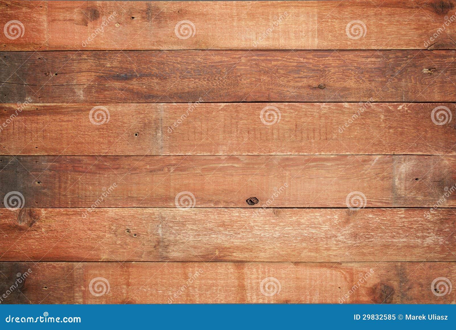 Fundo vermelho da madeira do celeiro