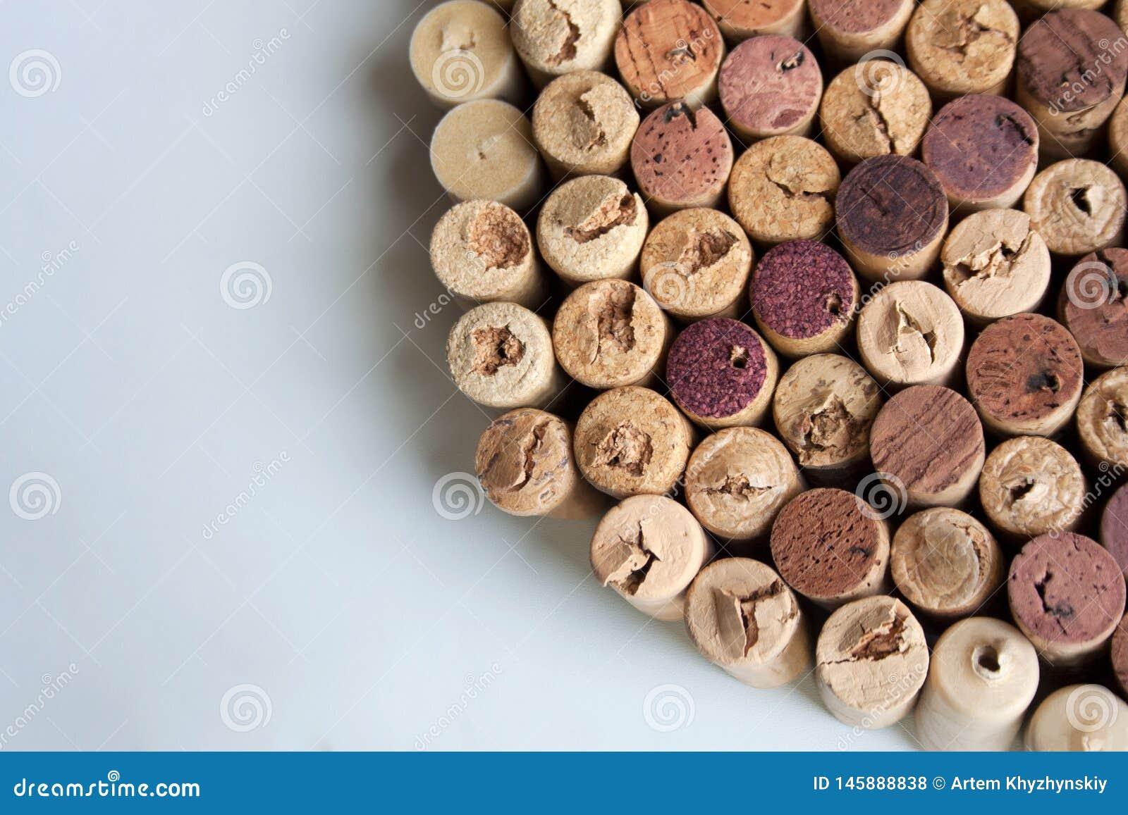 O vinho arrolha a textura do setor circular