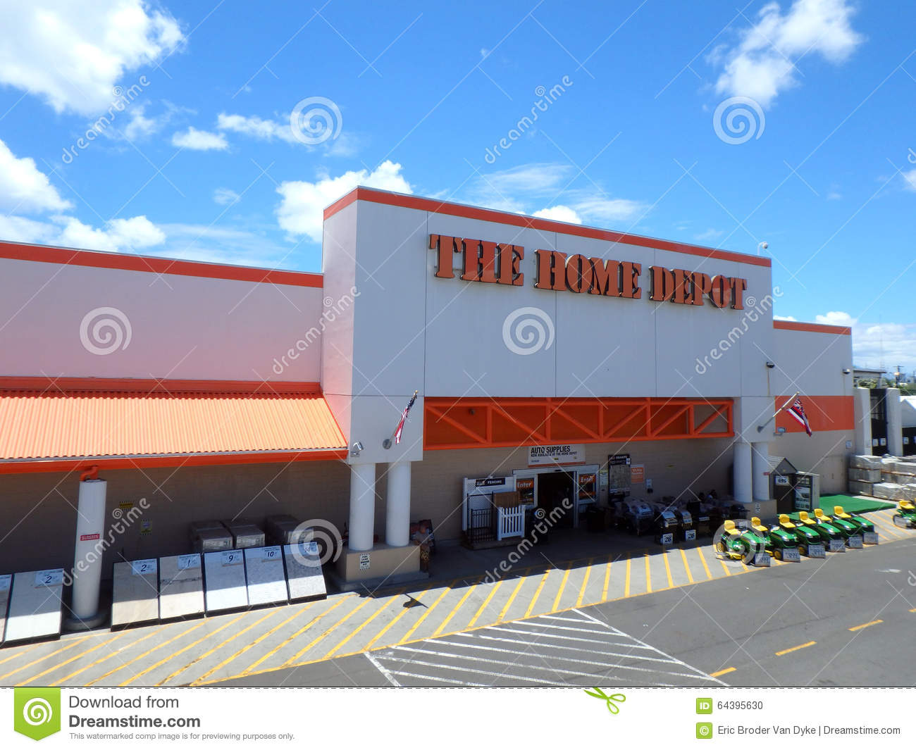 Oahu Home Depot Editorial Image Image Of Retail Building 64395630