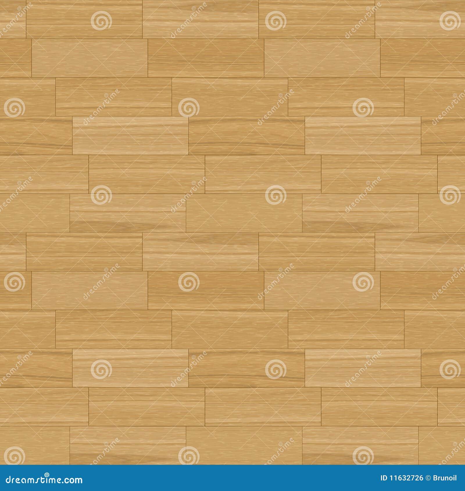 Oak Parquet Seamless Pattern