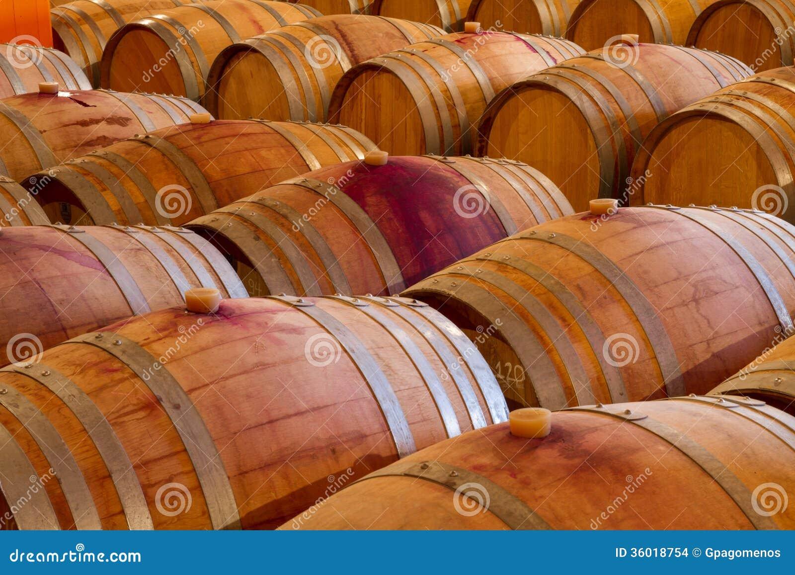 oak wine barrels. Perfect Wine Download Oak Wine Barrels In A Winery Celar Stock Photo  Image Of Winery  Wine To D