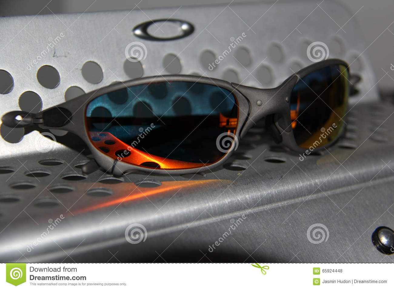 20299b67c24d Oakley X-Metal Juliet With Ruby Lenses Stock Photo - Image of ruby ...
