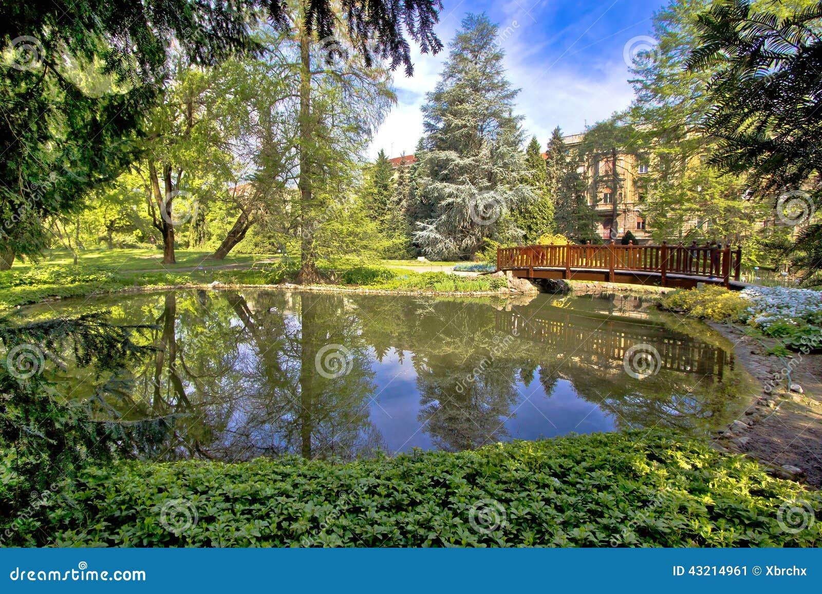 Oas för Zagreb botanisk trädgårdstad