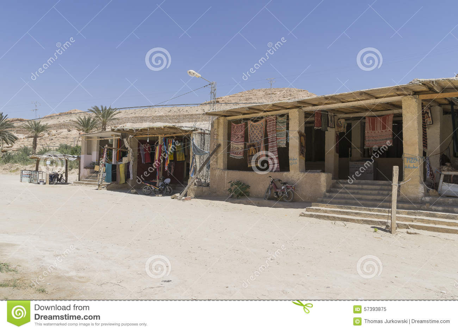 Oase in Tunesië