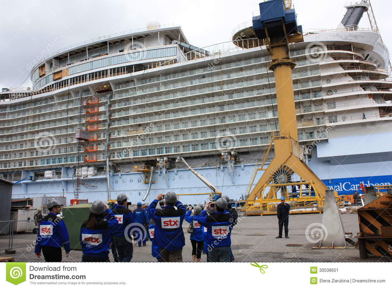 Oasis Of The Seas Construction Editorial Photo - Image ... Oasis Of The Seas Construction
