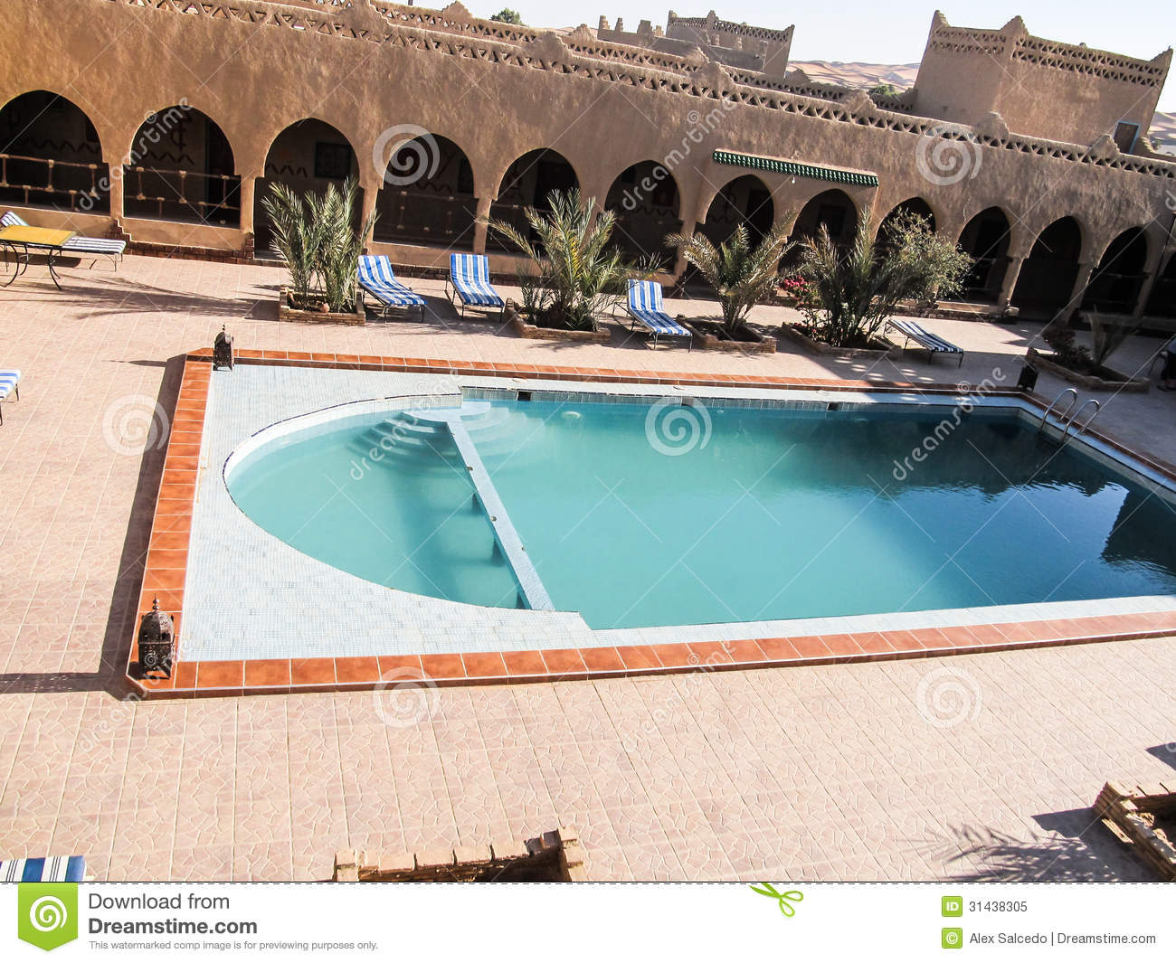 Oasis Swimming Pool Royalty Free Stock Photo Image 31438305