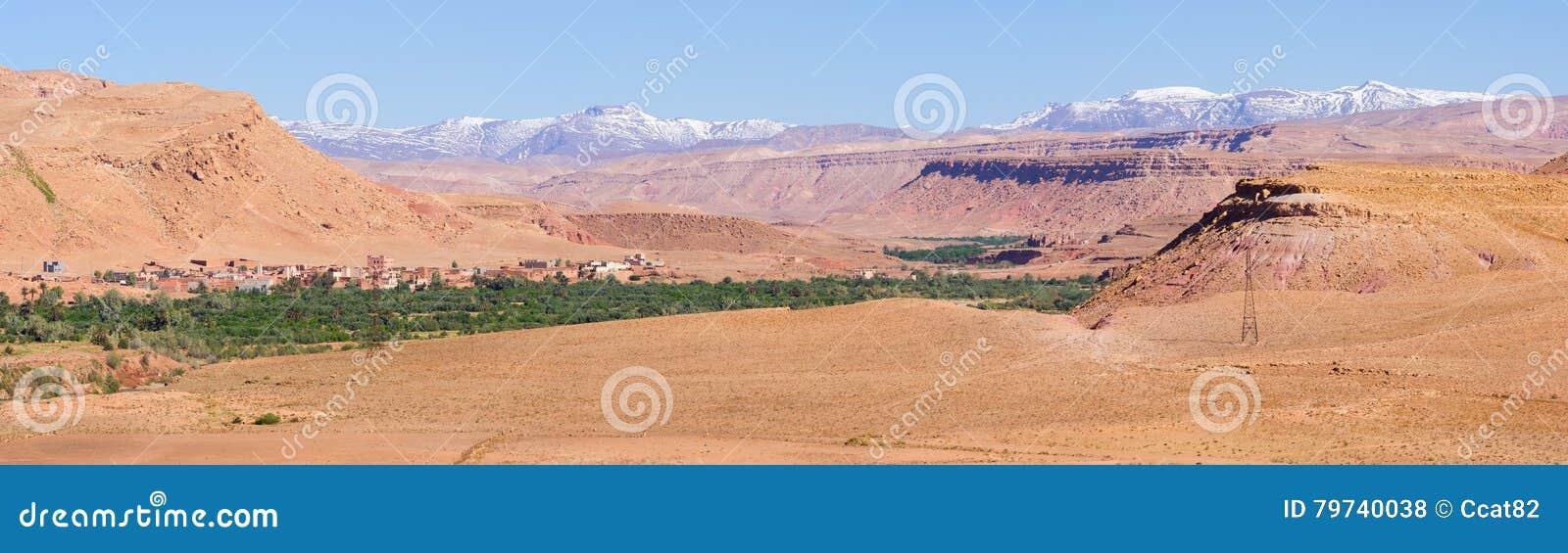 Oasis verde en Marruecos