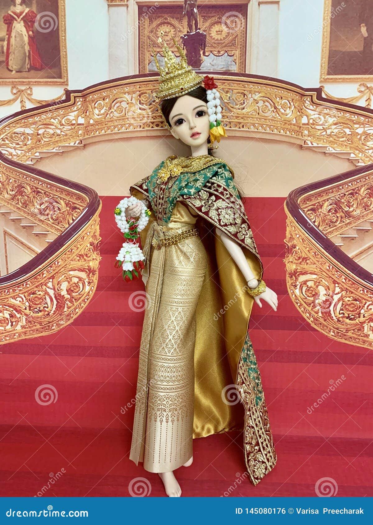Oasisdoll, muñeca de la junta de rótula, danza tailandesa, YAOYUE, volante