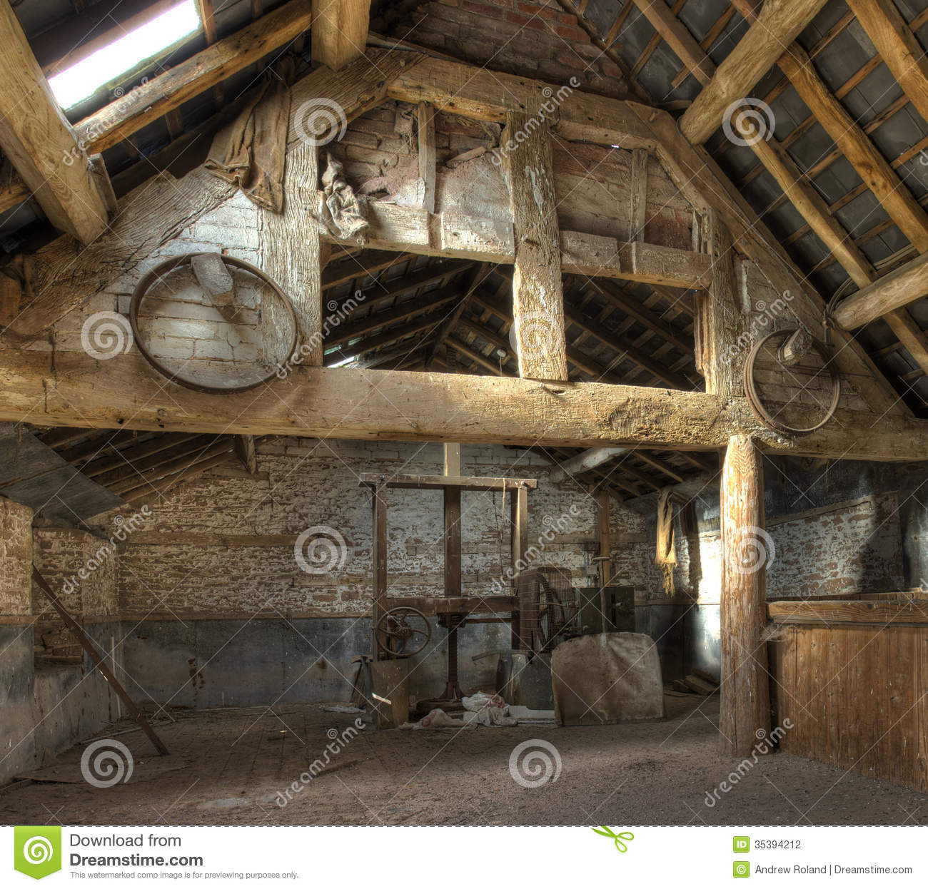 Oast House Herefordshire Stock Photography Image   Timber Frame Home  Interiors