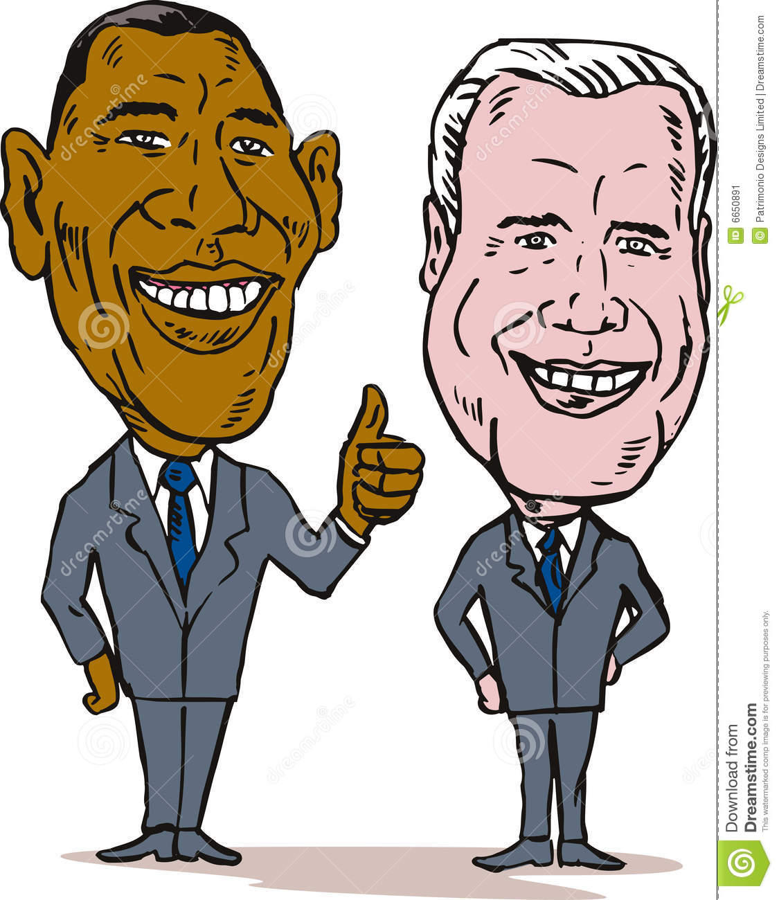 Obama and biden editorial photo image 6650891 for Joe biden coloring pages