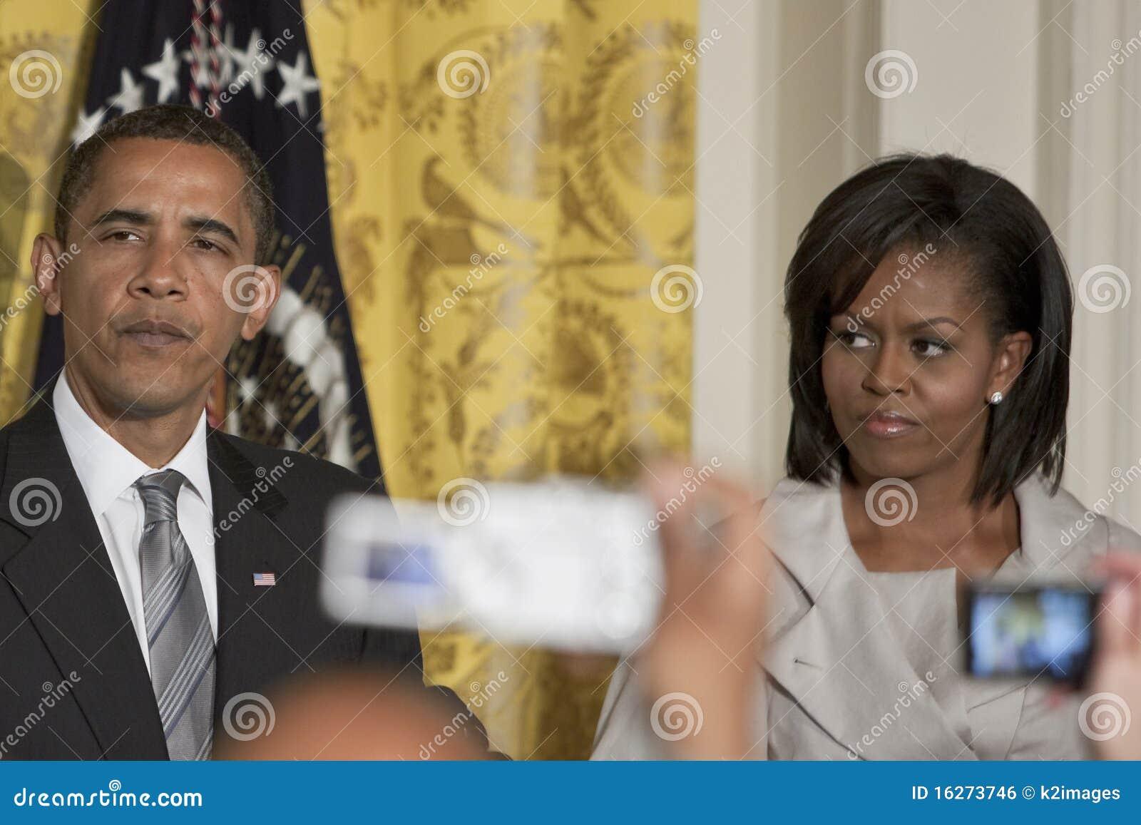 Obama Michelle du Président Barack