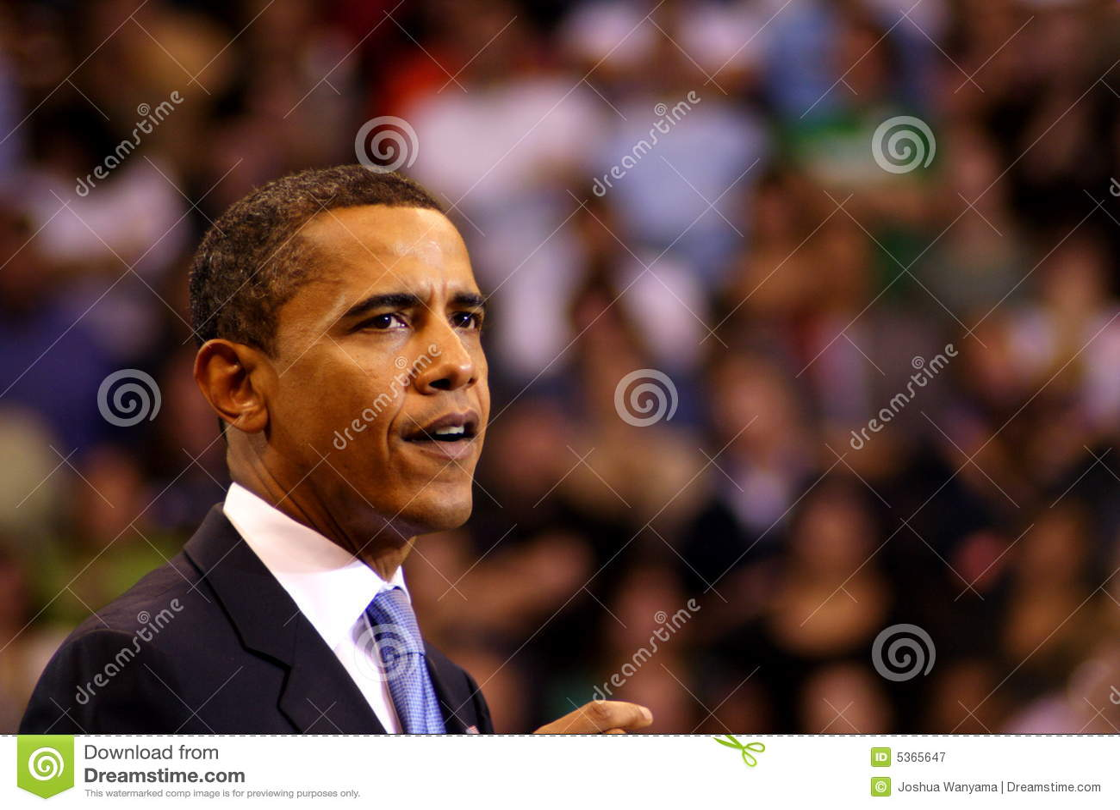 Obama verklaart Overwinning in St. Paul, Mn