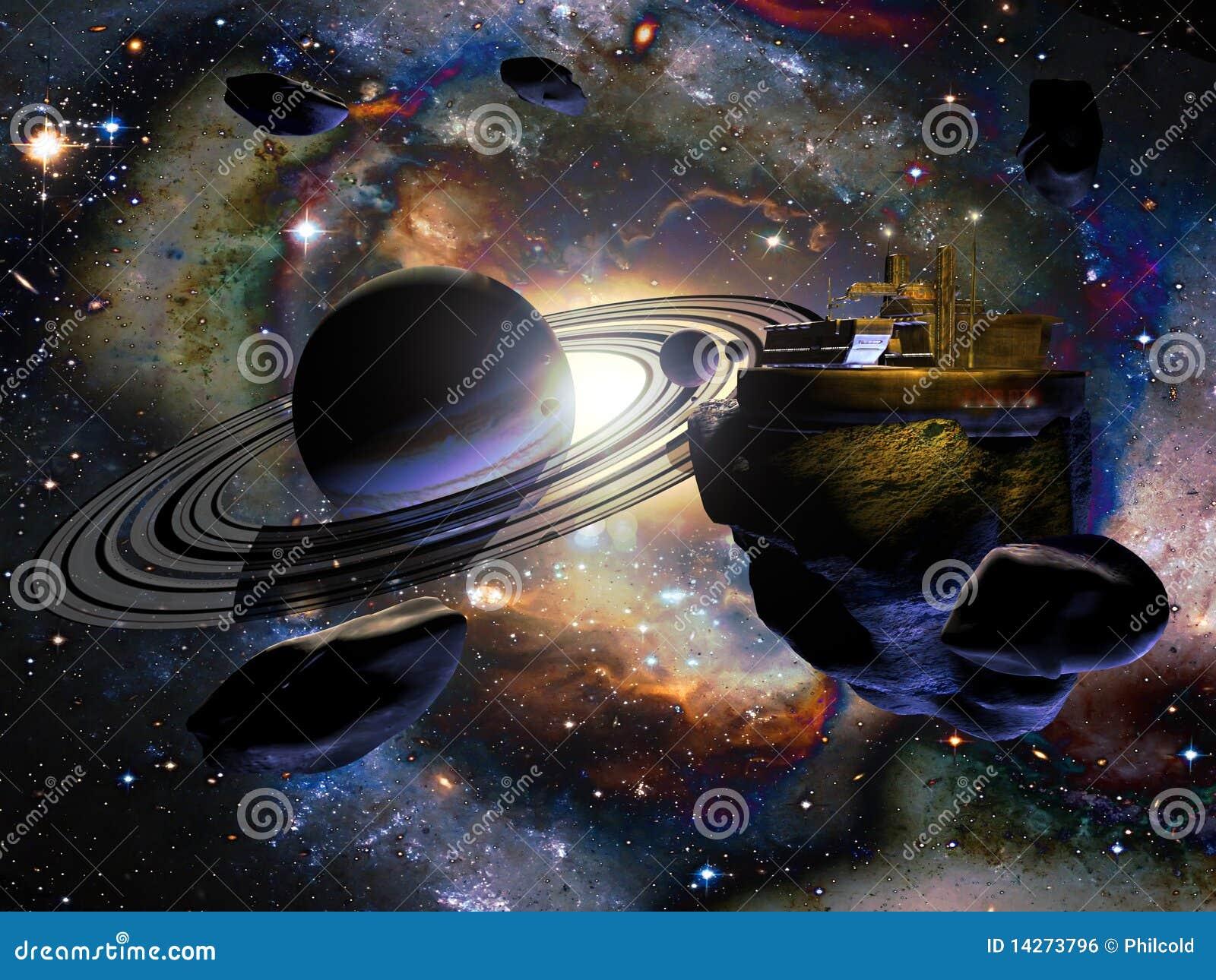 Obca stacja kosmiczna
