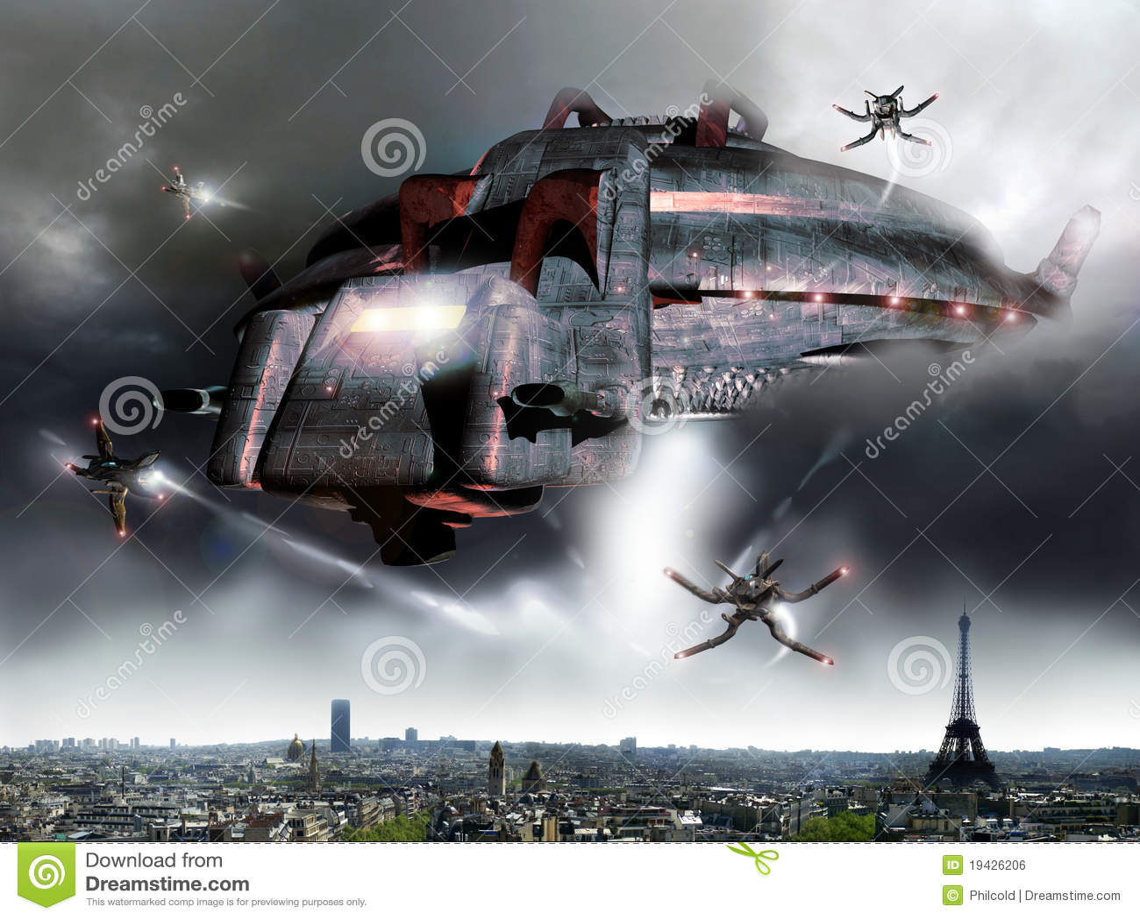 Obcy inwazyjny Paris