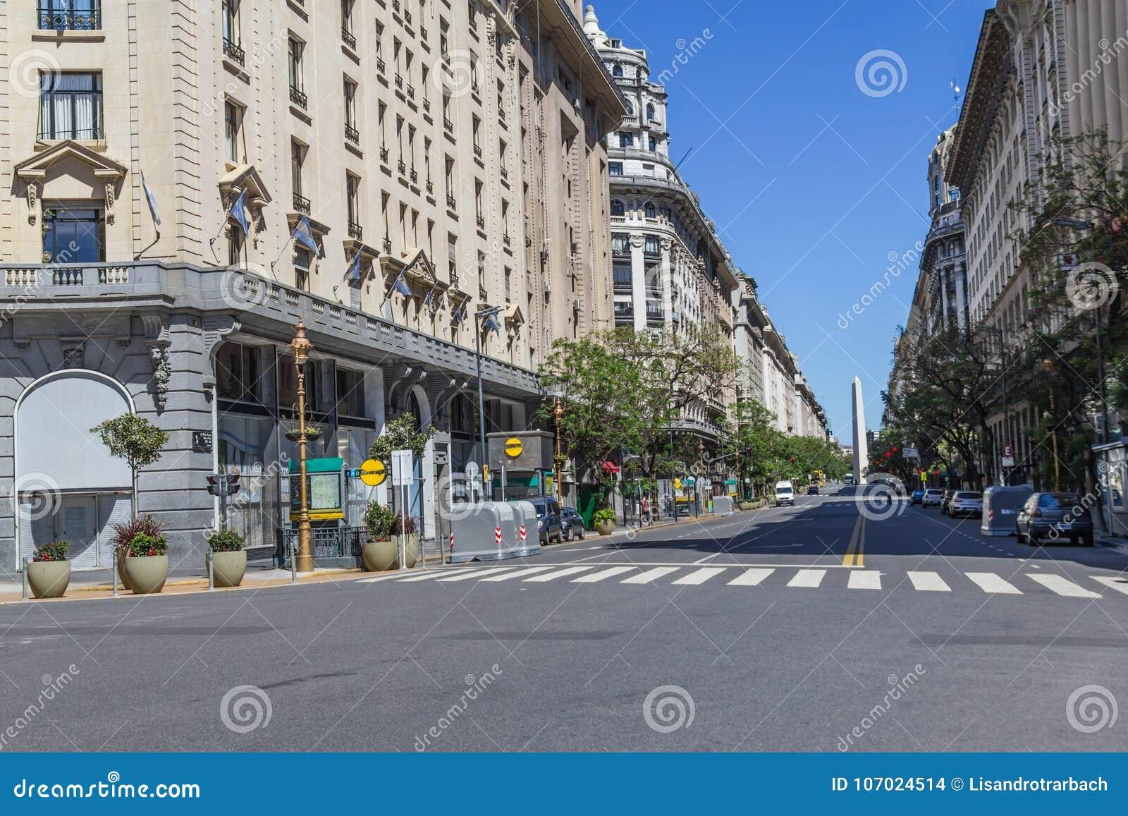 Obelisco in Buenos Aires