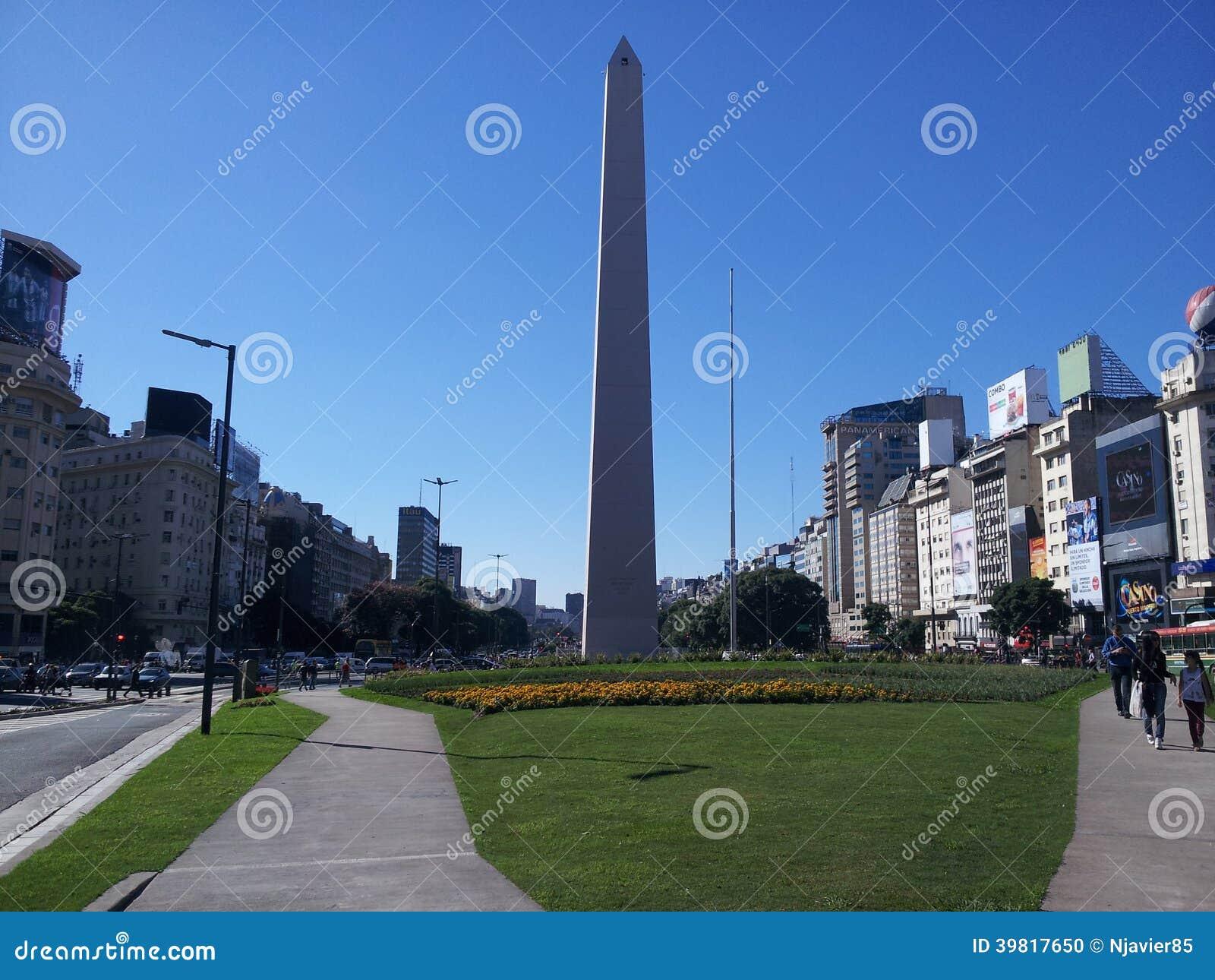 Obelisco de Buenos Aires argentina