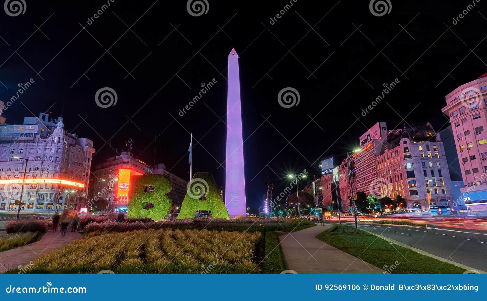 Obelisco di Buenos Aires