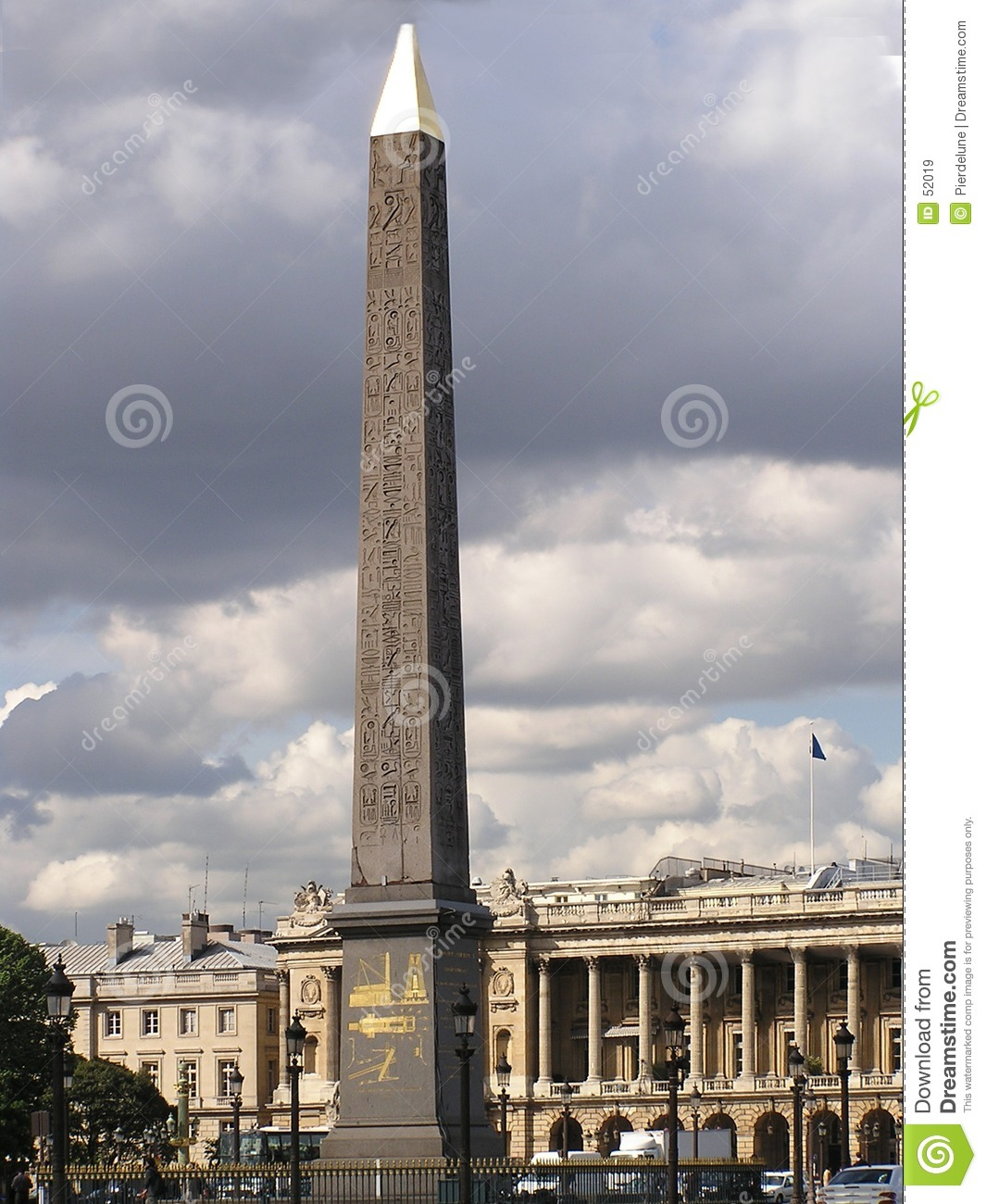 Obelisk of Concorde Place, Paris