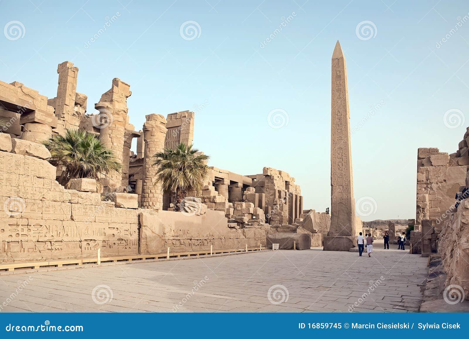 Obelisk em Karnak
