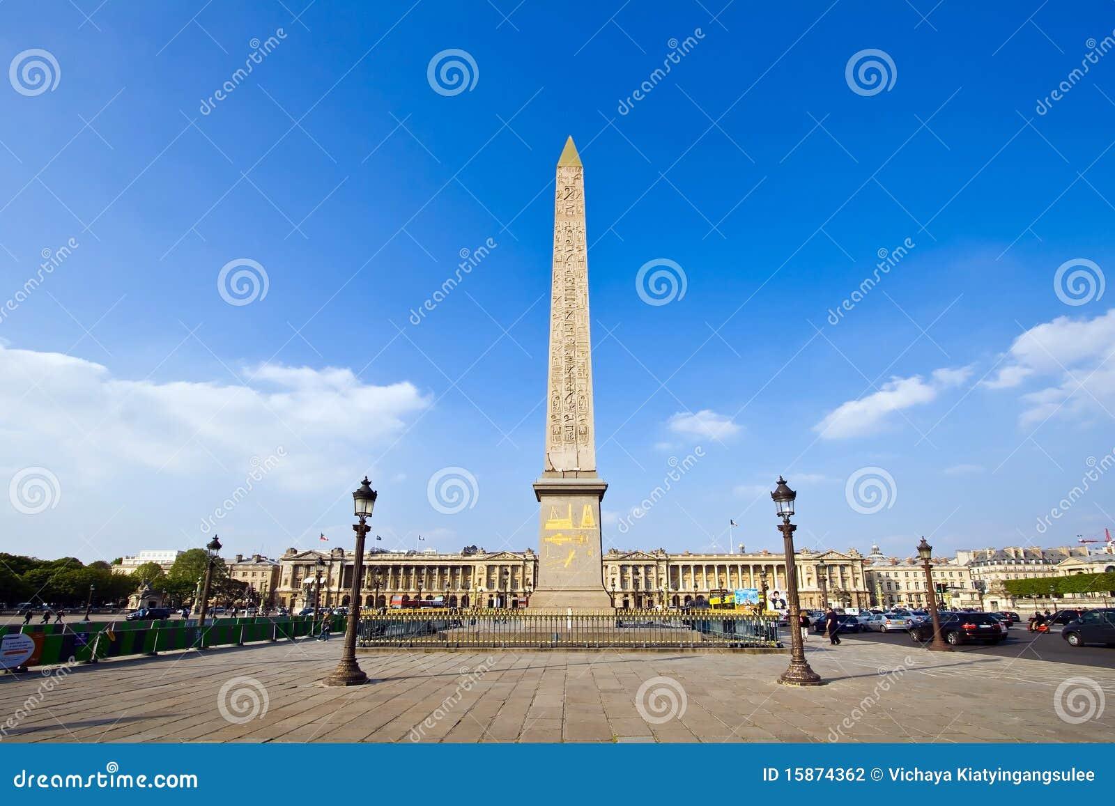 Obelisk Monument Paris