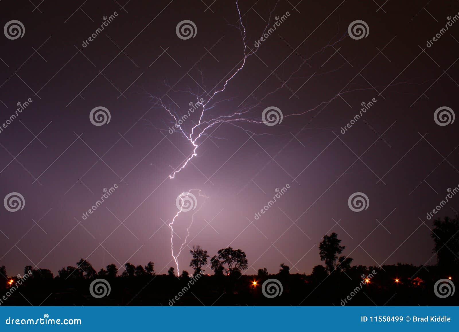 Oben gehen Blitz 6.10.09