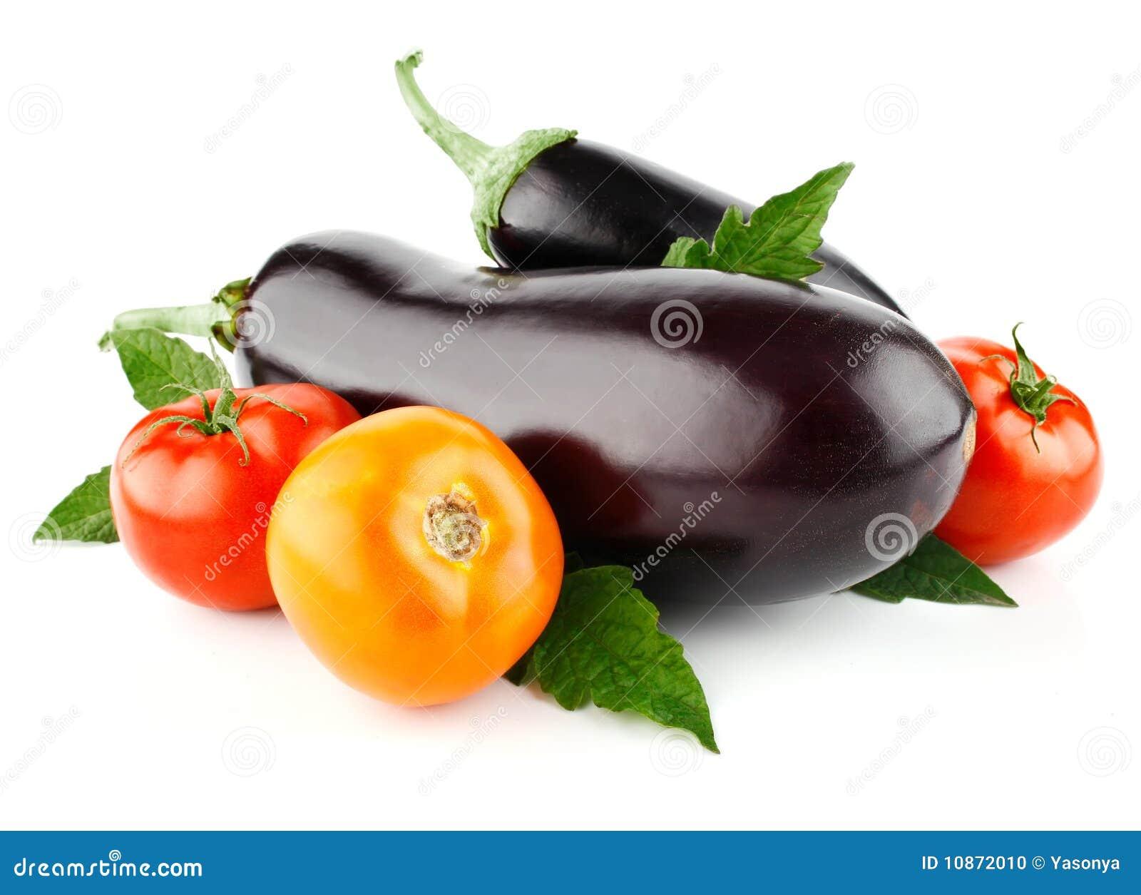 Oberżyny owoc odosobniony pomidorowy warzywo