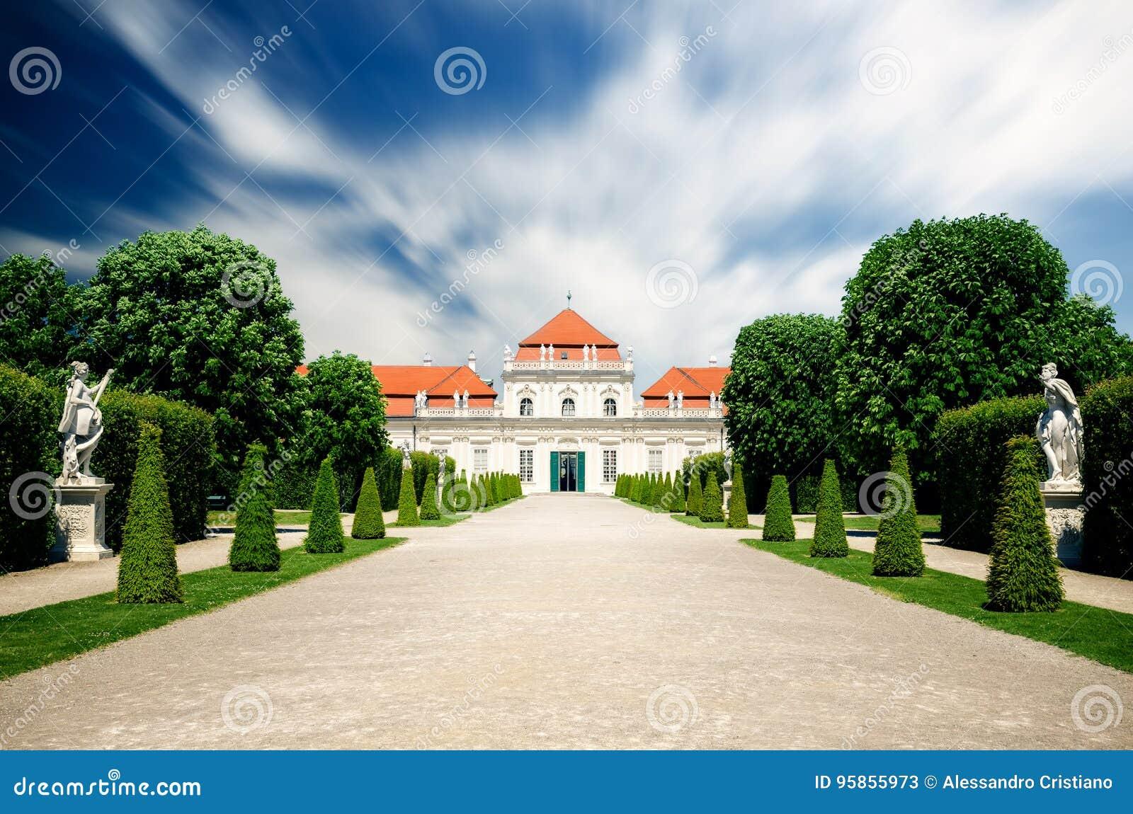 Oberes Belvedere-Schloss in Wien