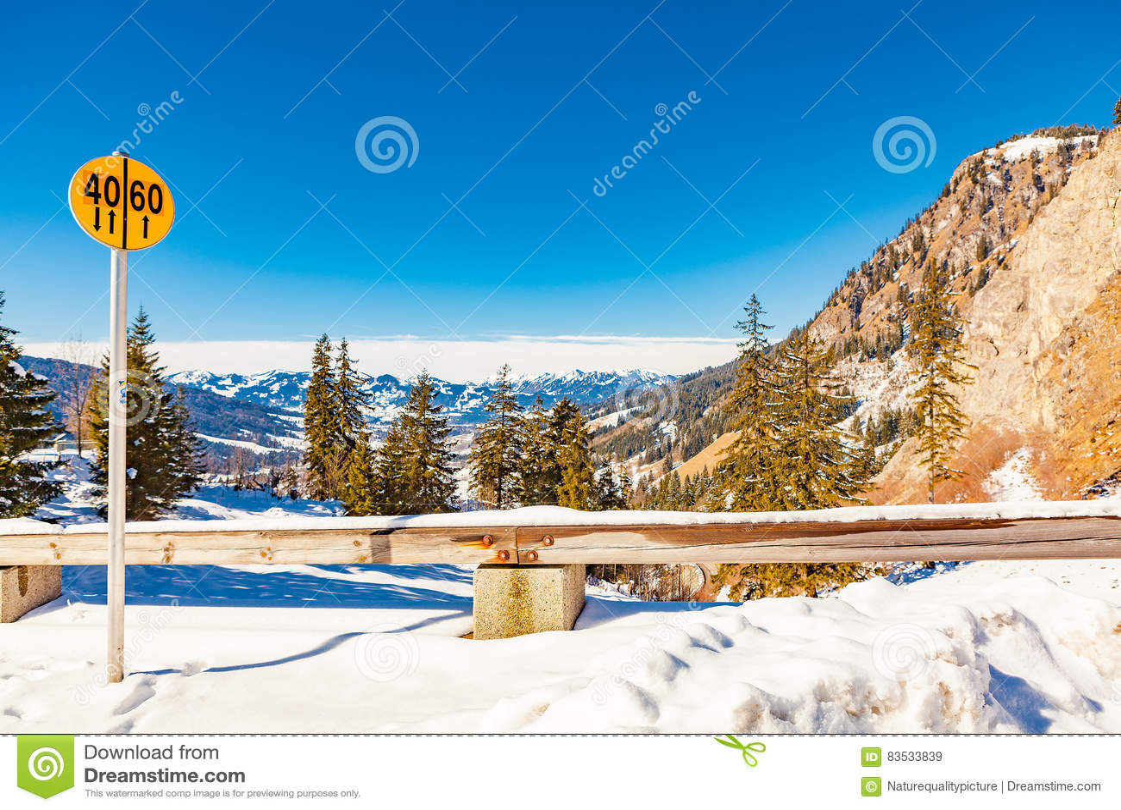 Oberjoch no inverno