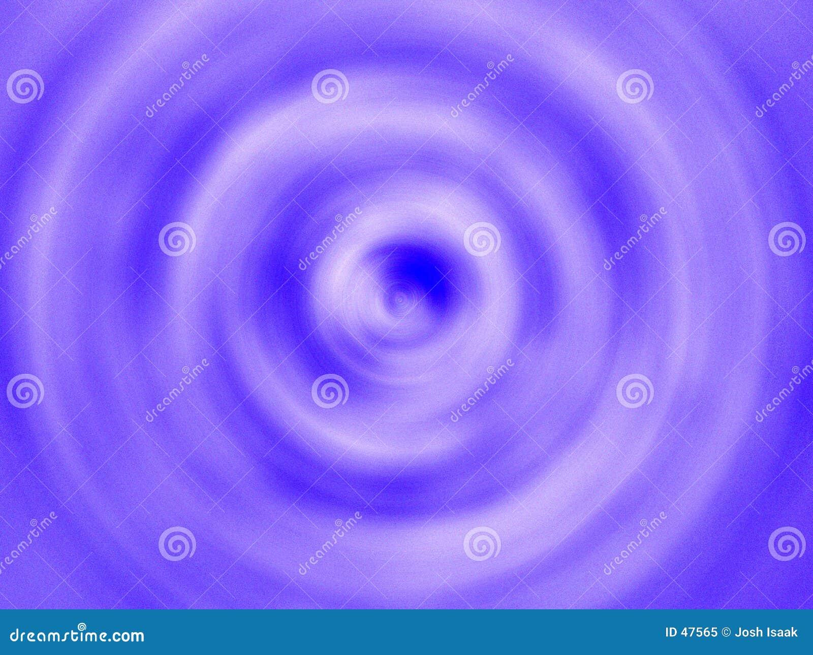 Oberseiten-unten Turbulenz-Blau