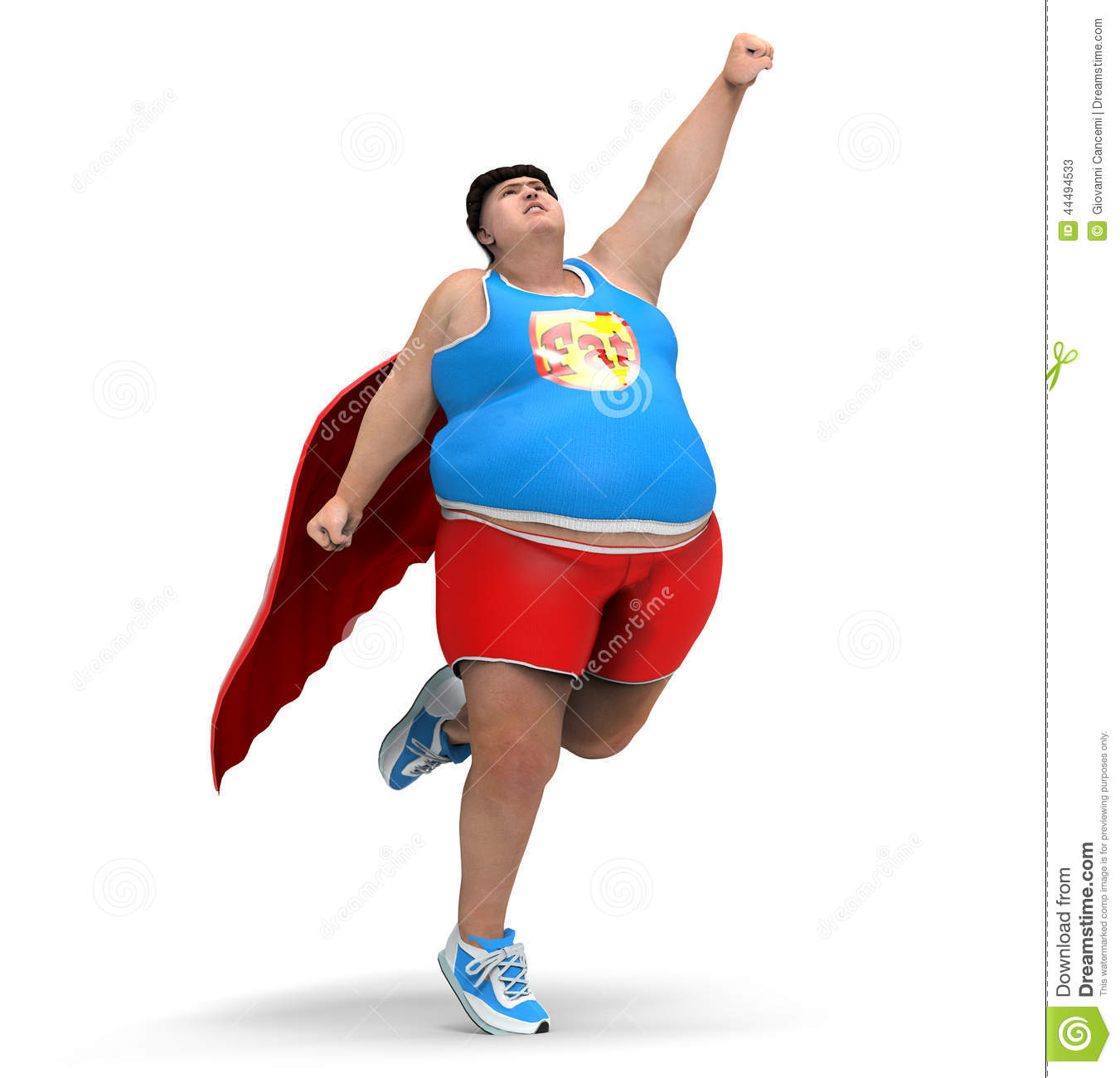 obese superhero stock illustration image 44494533 Superhero Clip Art for Teachers Superhero Clip Art for Teachers