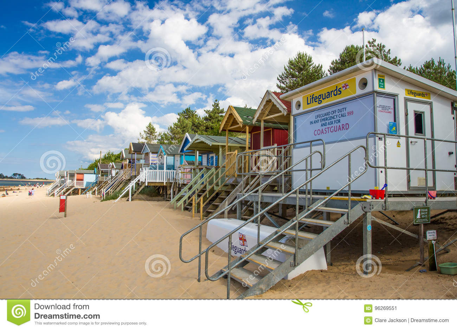 Obevakad station för HM CoastGuard