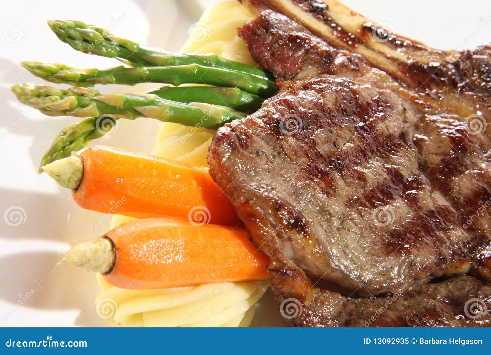 Obiadowy stek