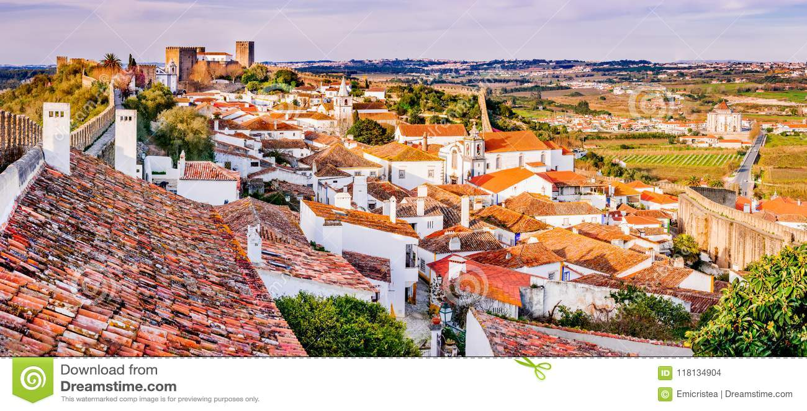 Obidos a monopolisé la parole la ville au Portugal
