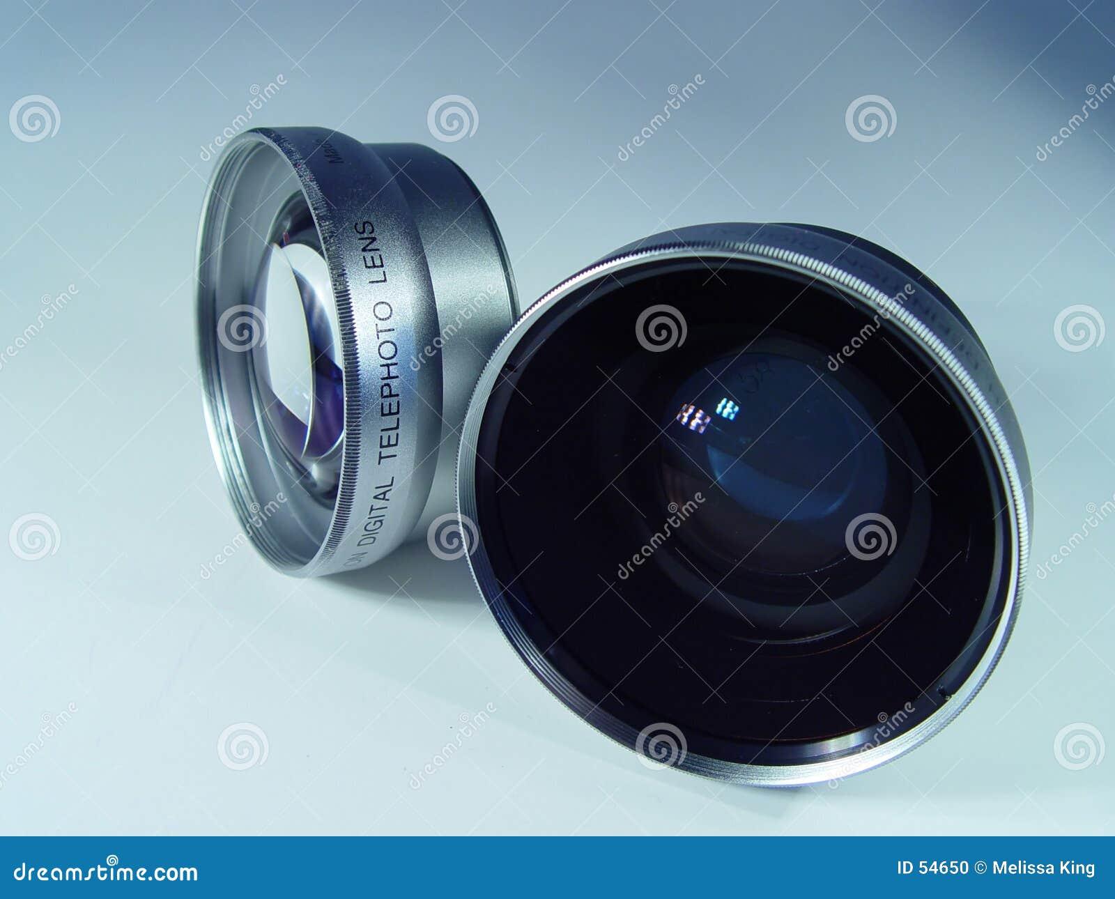 Obiettivo di macchina fotografica due