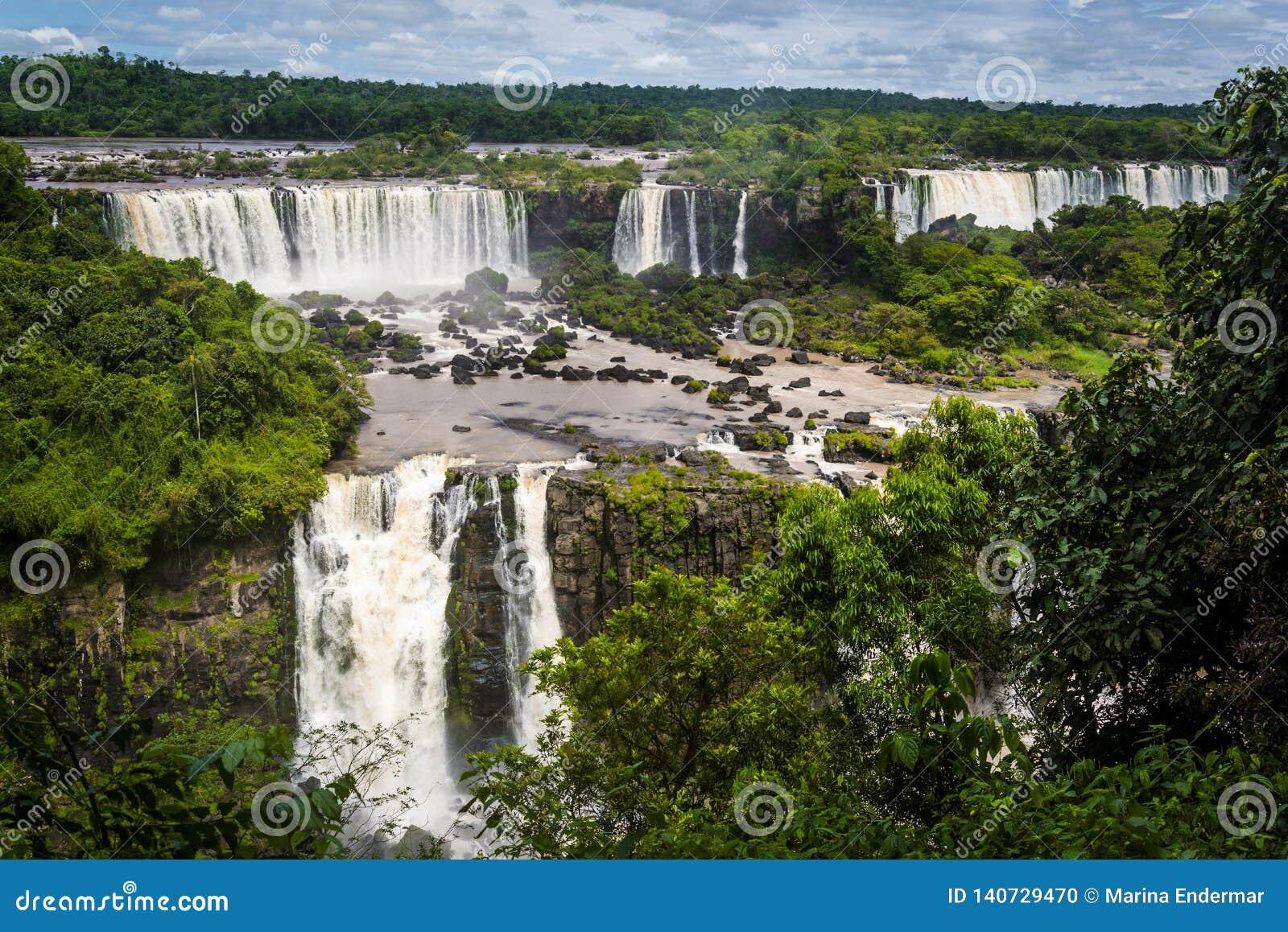 Objętych iguazu brazylijskie