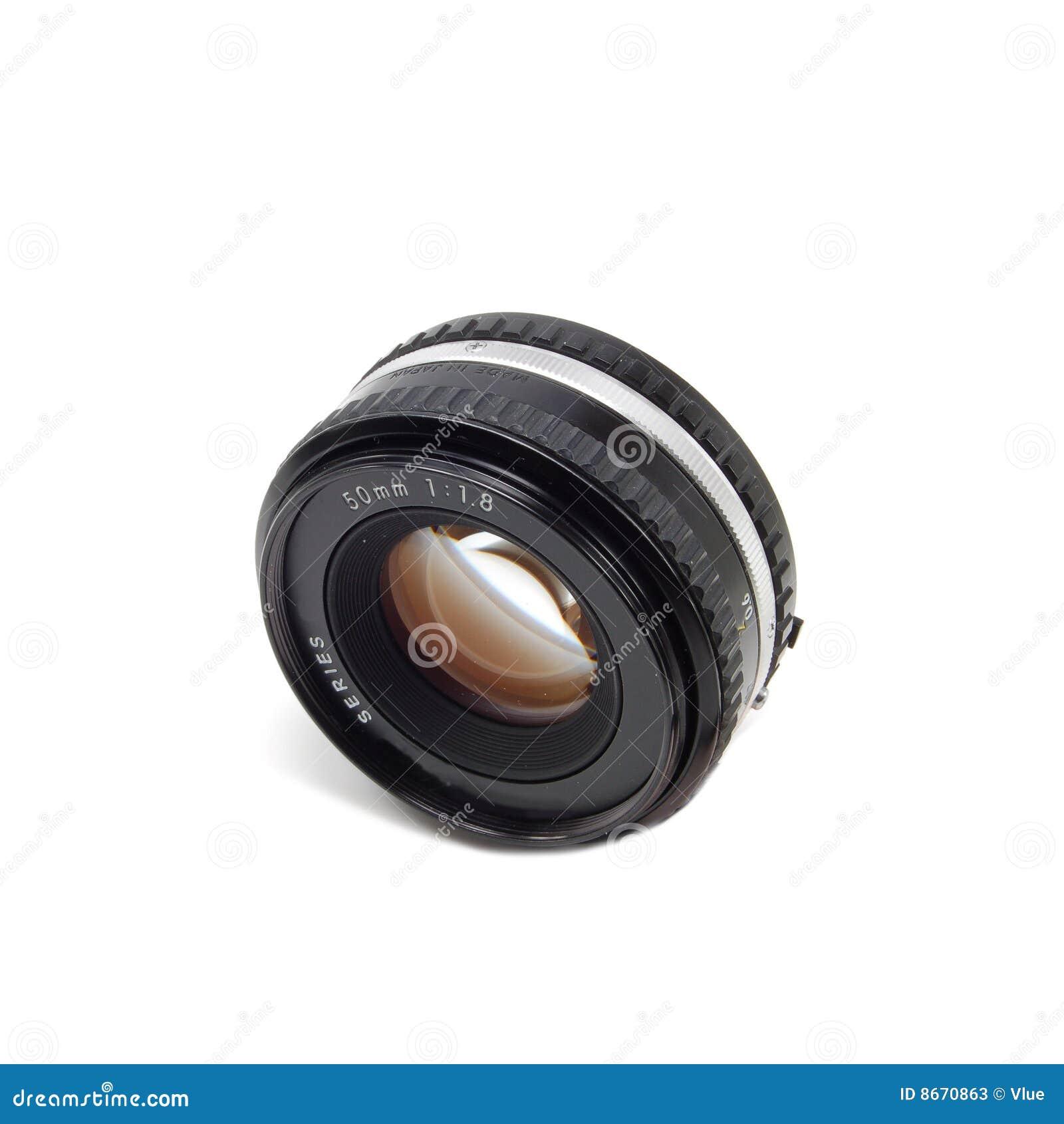 Objectif de caméra de 50mm