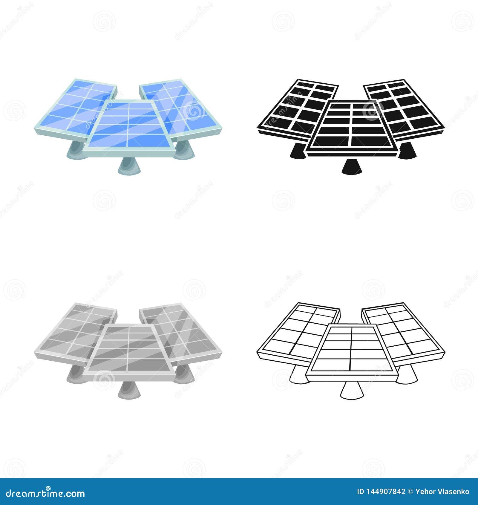 Objet d isolement de générateur et de signe de l électricité r