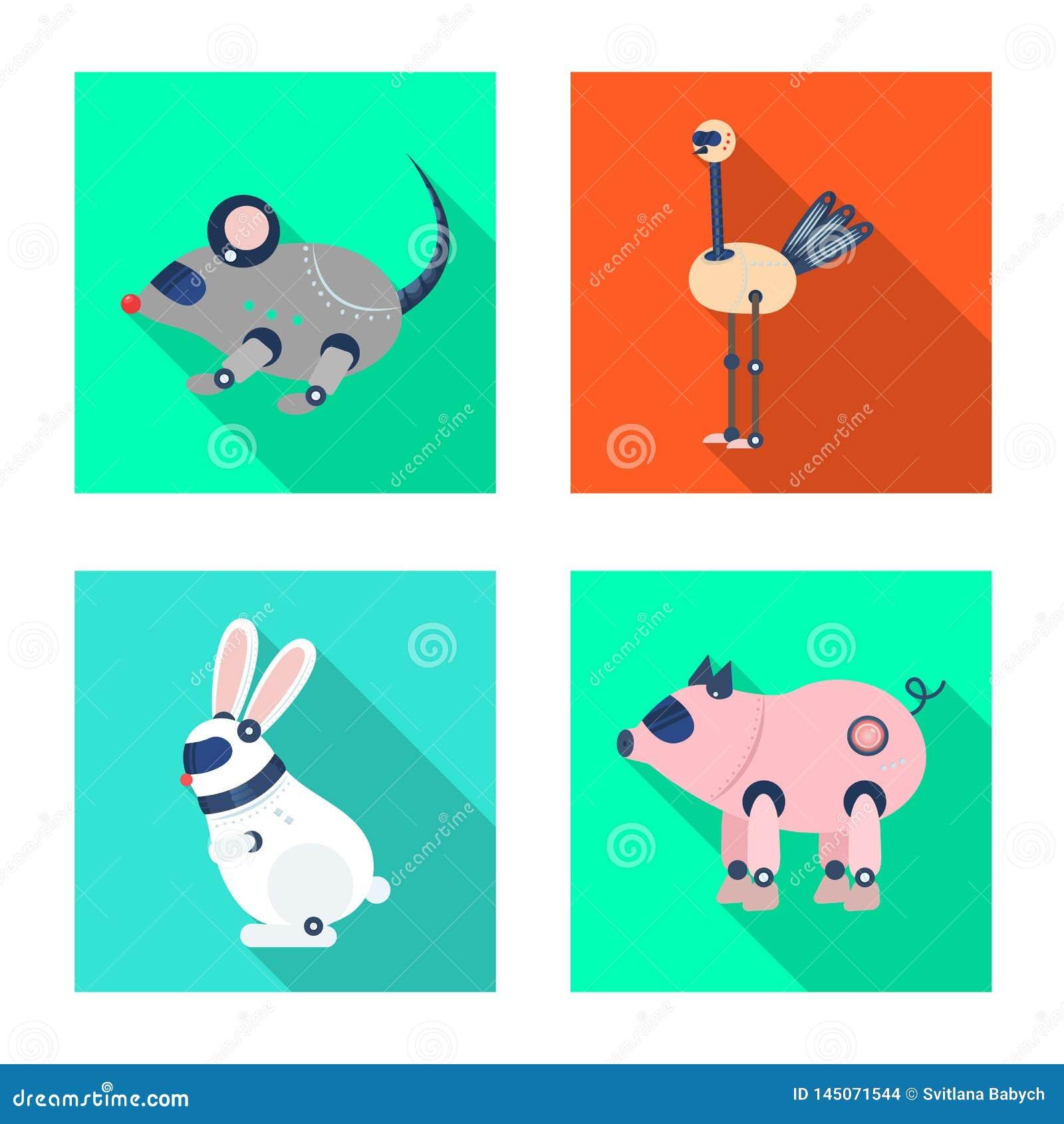 Objet d isolement de jouet et de logo de la science Placez de l icône de jouet et de vecteur de jouet pour des actions