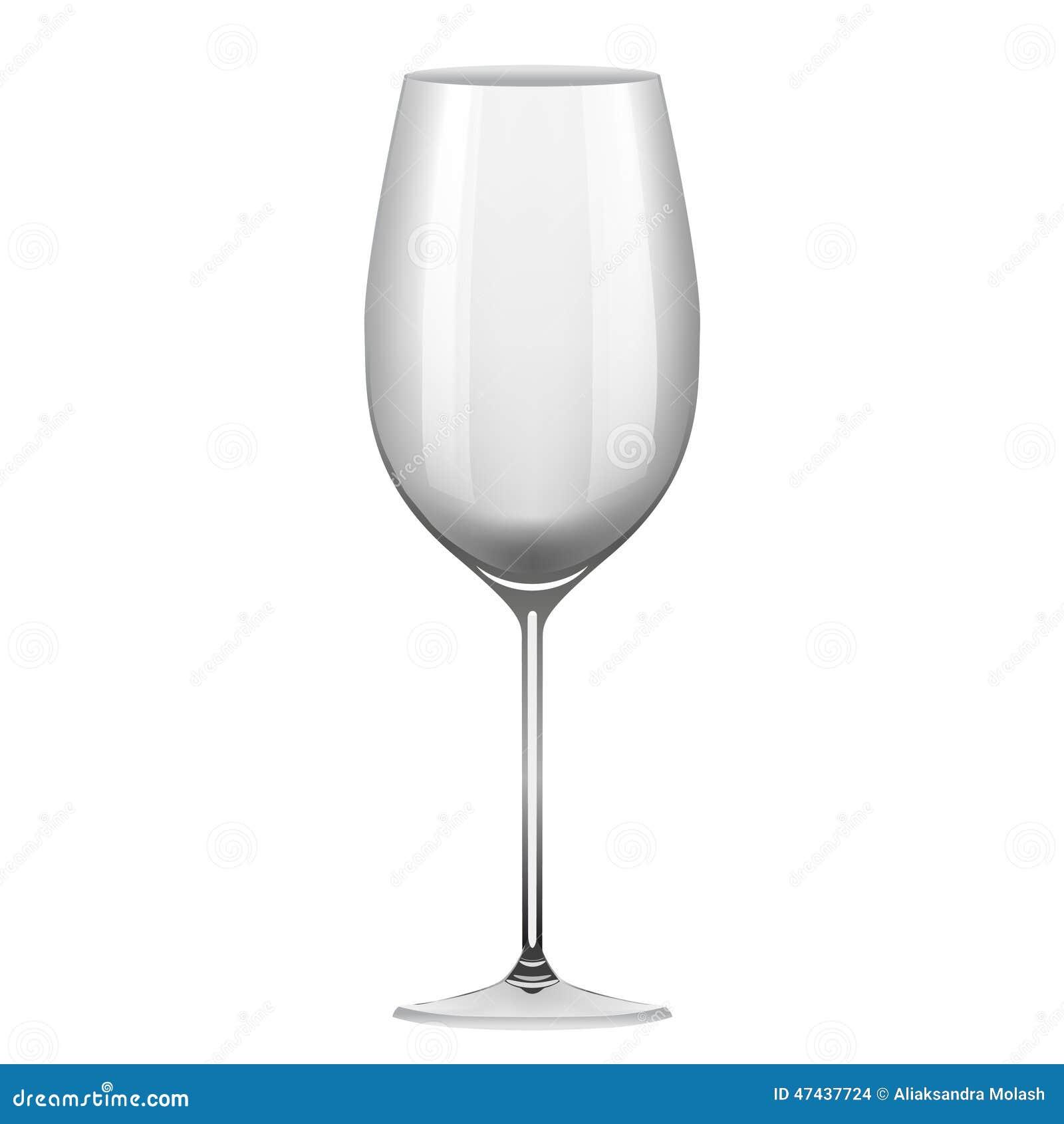 objet de verre vin sur le fond blanc illustration de. Black Bedroom Furniture Sets. Home Design Ideas