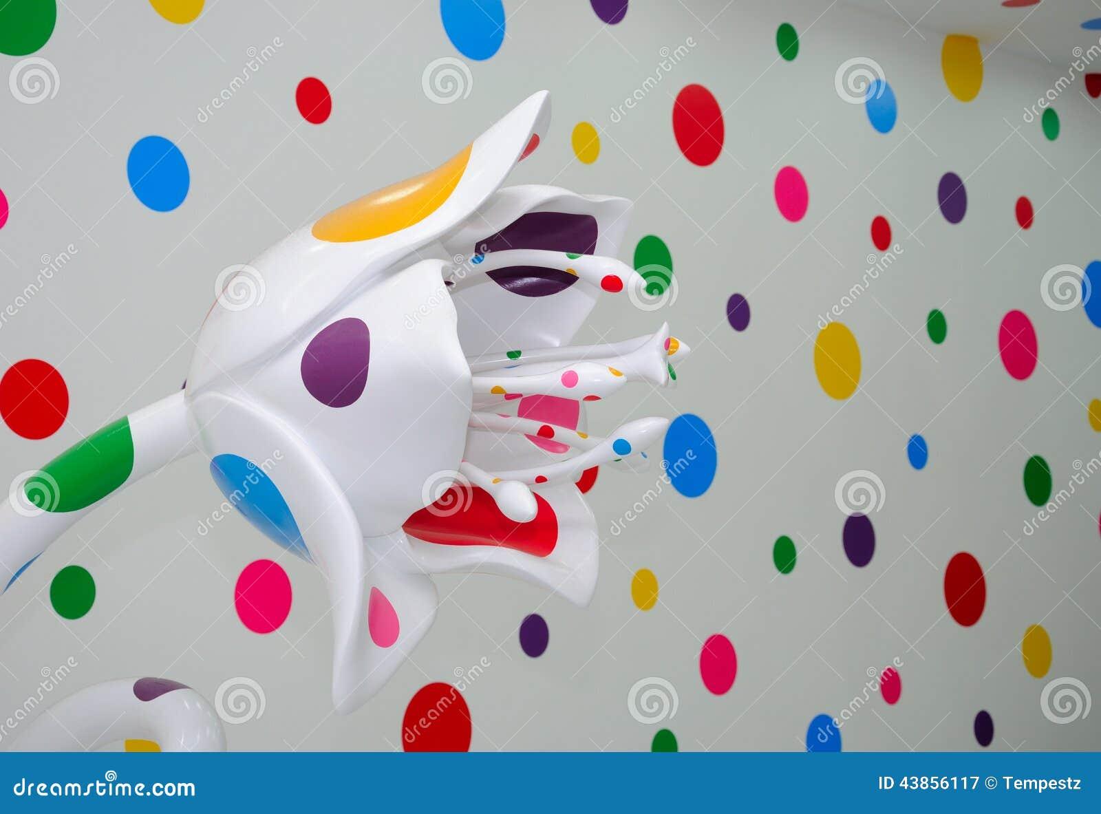 Objet Expos D 39 Art Contemporain Photographie Ditorial Image 43856117