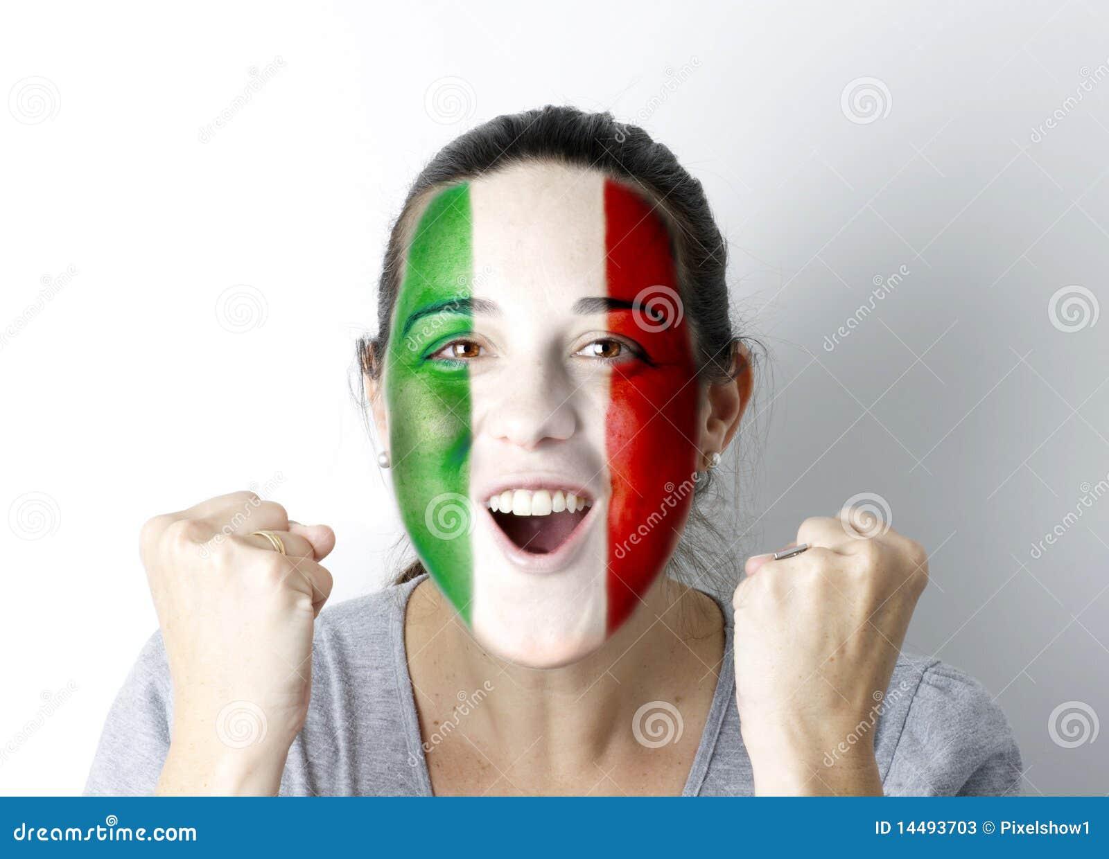 OBJETIVO gritando do ventilador italiano