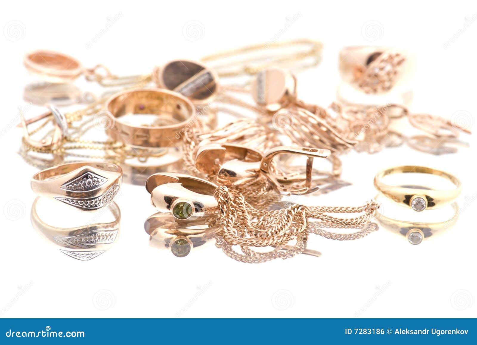 Objeto de valor de oro