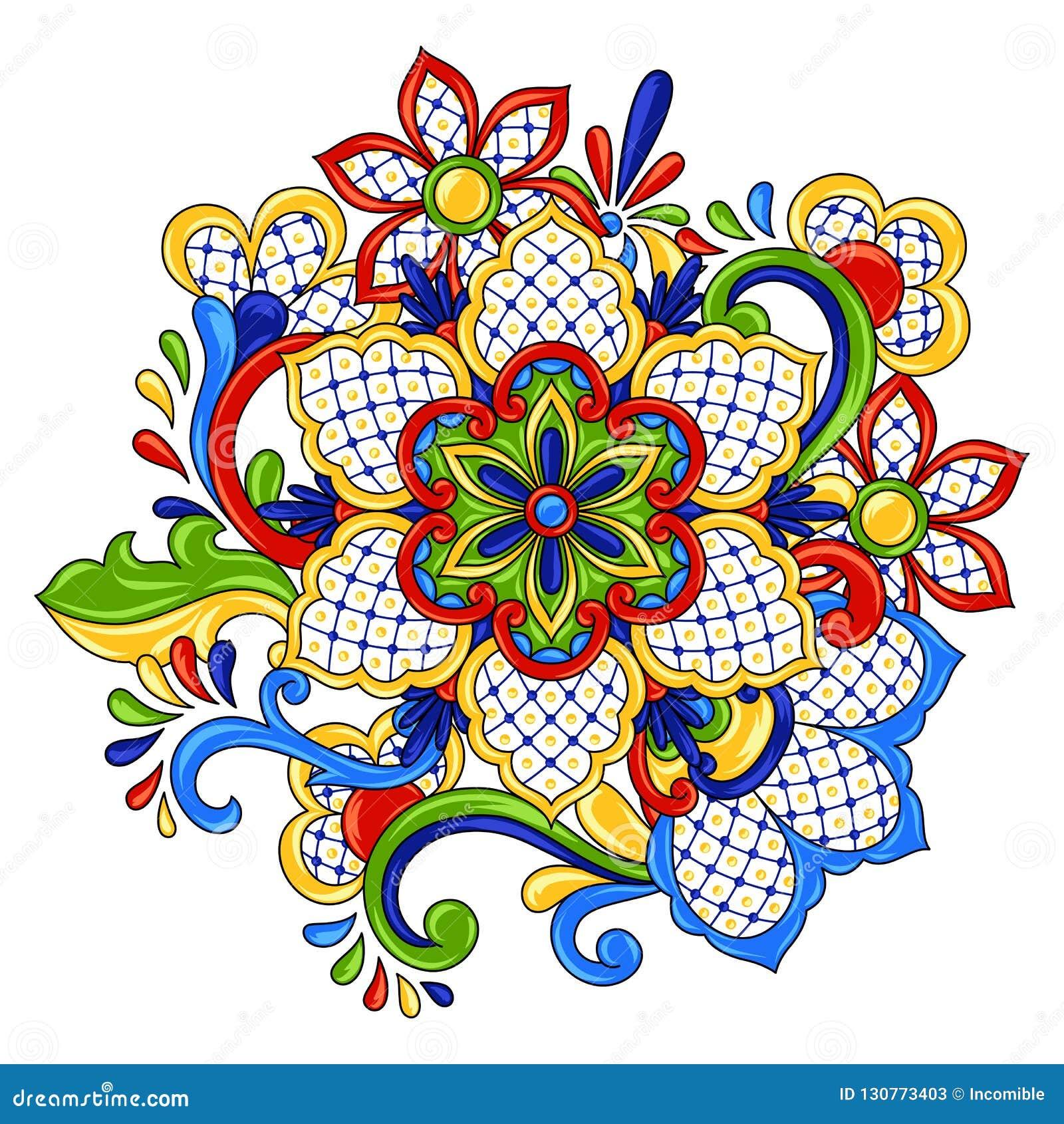 Objeto decorativo tradicional mexicano