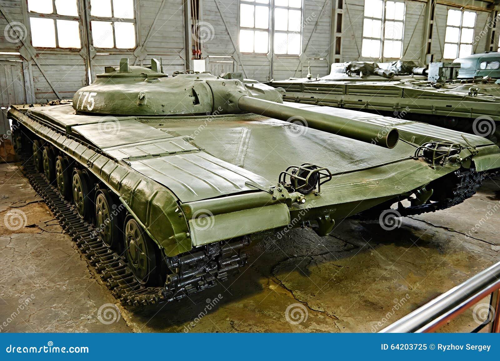Objeto experimental soviético 775 del tanque del misil