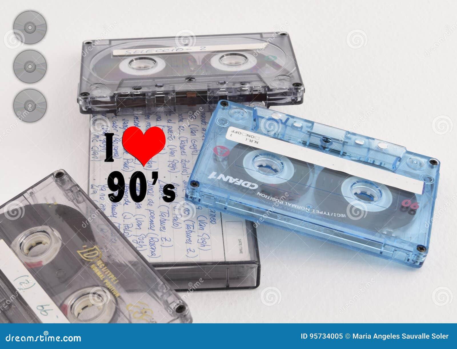 Objetos da década dos anos 90