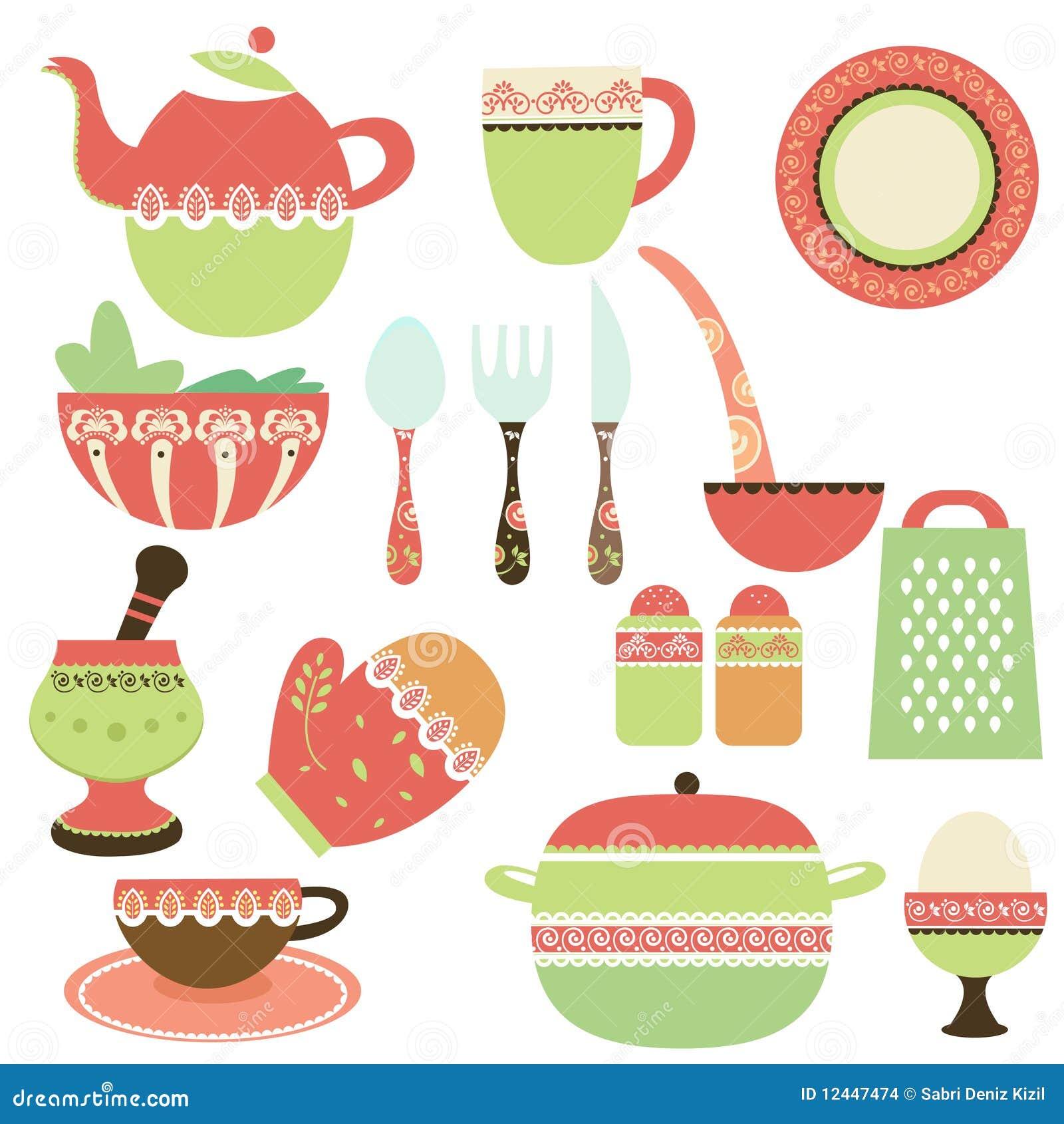 Objetos de la cocina imagenes de archivo imagen 12447474 for Objetos de cocina