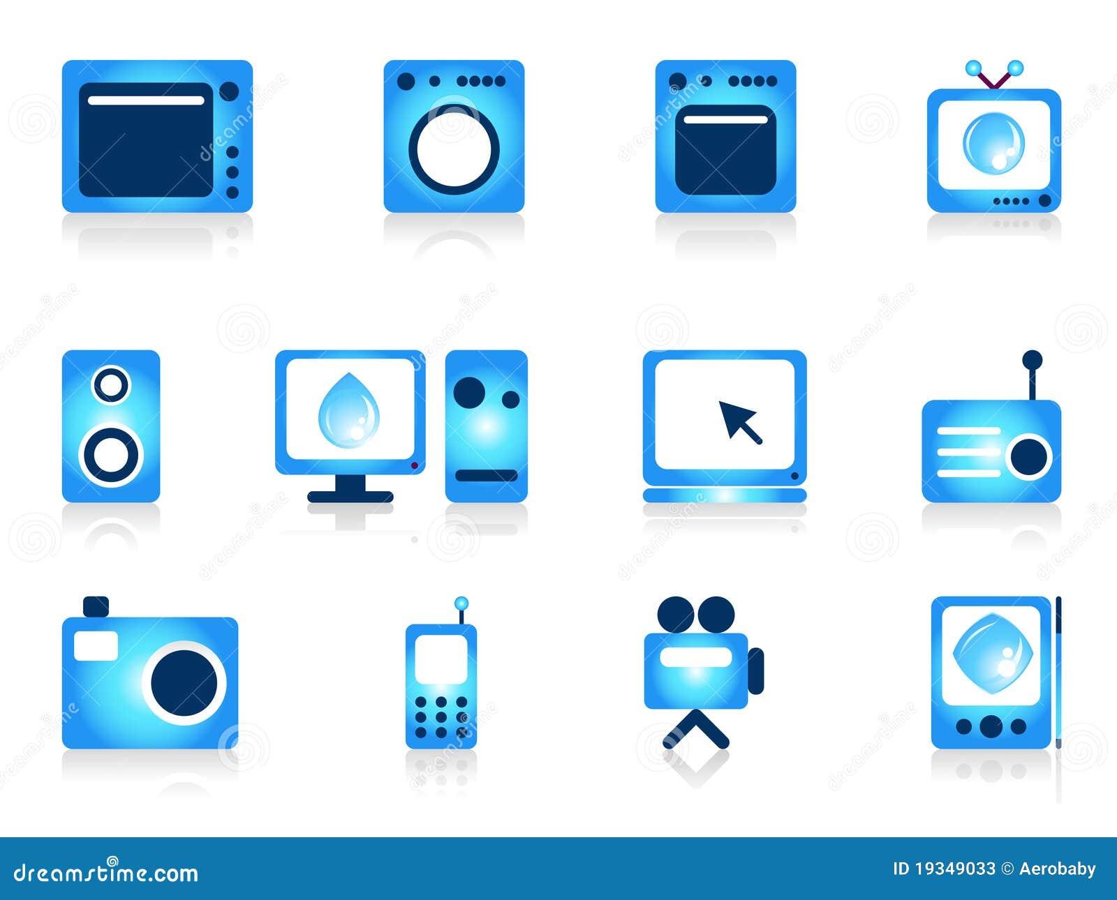 objets d 39 appareil m nager r gl s photos stock image 19349033. Black Bedroom Furniture Sets. Home Design Ideas