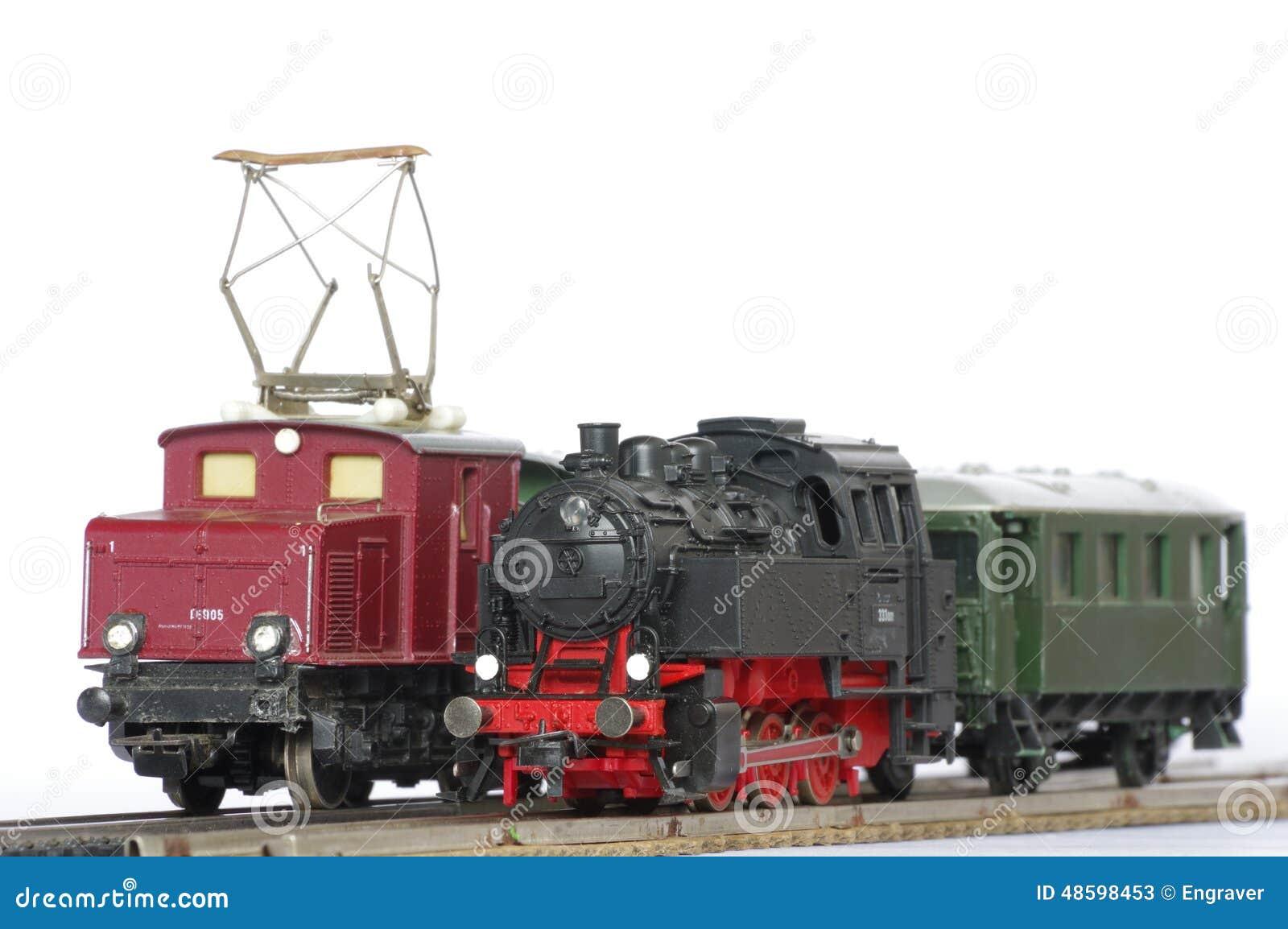 objets de jouet de train lectrique image stock image du petit historique 48598453. Black Bedroom Furniture Sets. Home Design Ideas