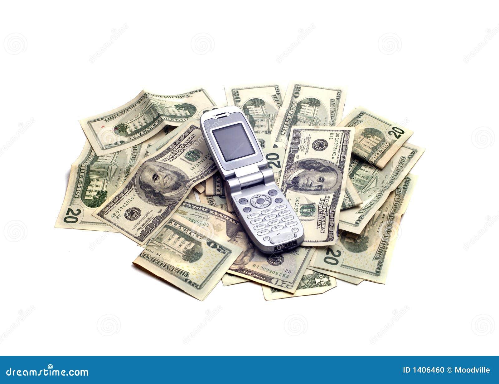 Objets - portable sur l argent