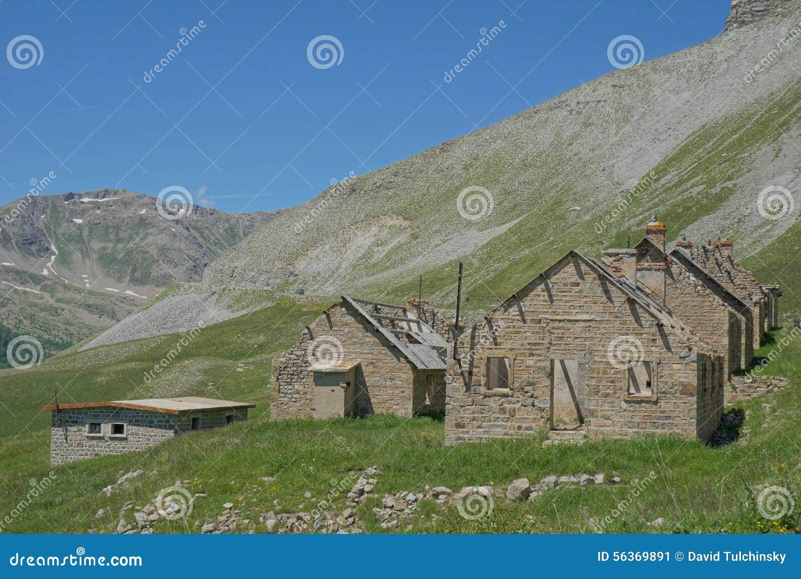 Obozowy des Fourches, Parc obywatel Du Mercantour, Francja